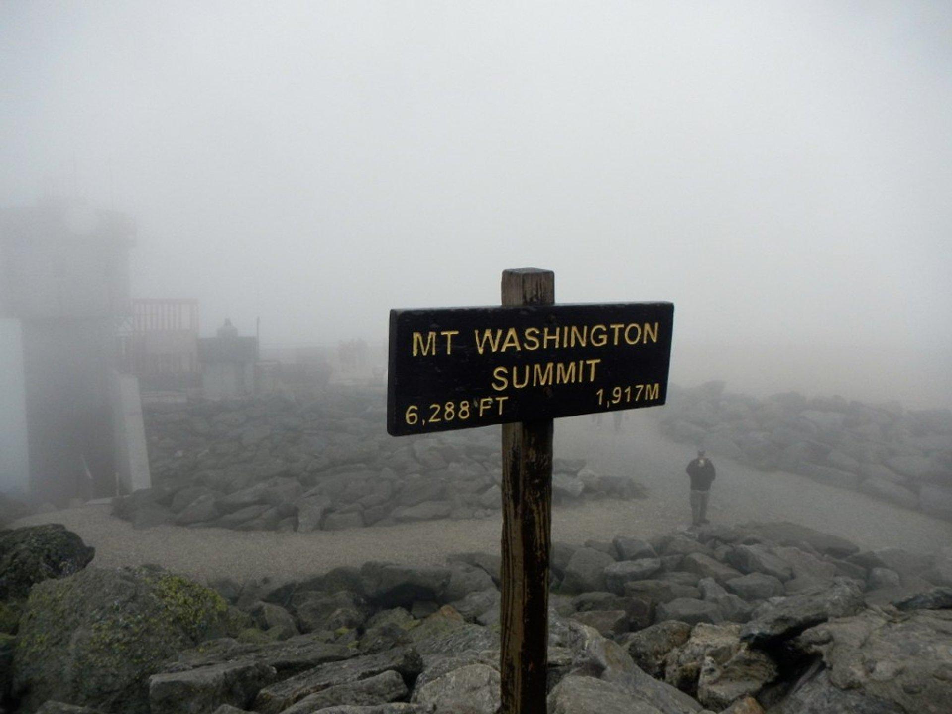Mount Washington Summit 2020