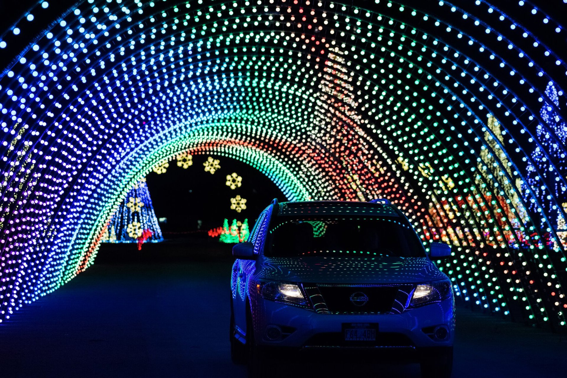 Christmas in Color drive-through 2020