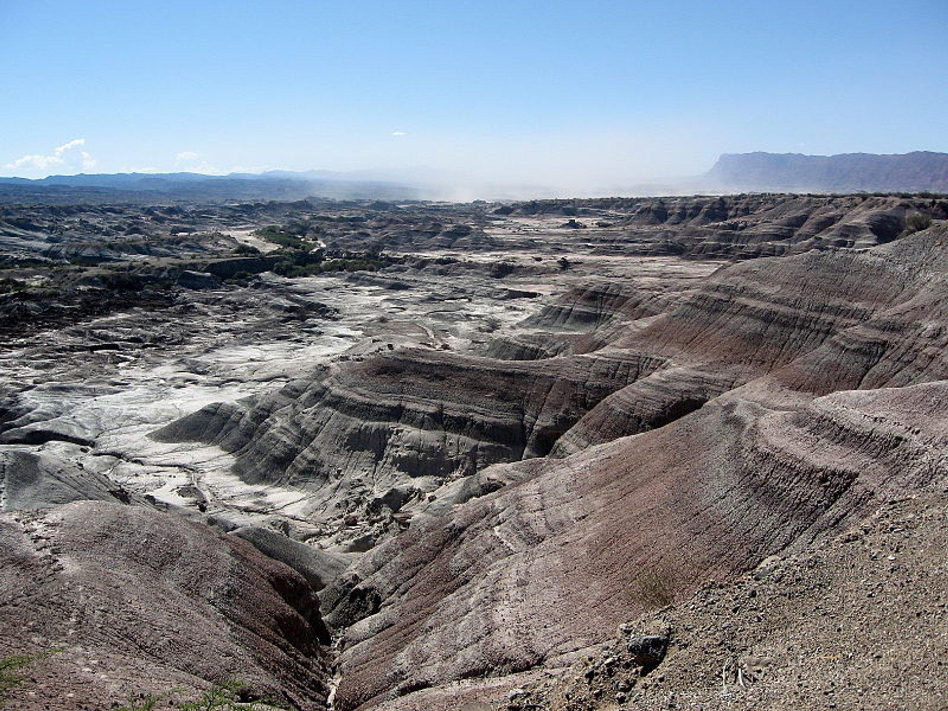 Ischigualasto Provincial Park (Valle de la Luna) in Argentina 2020 - Best Time
