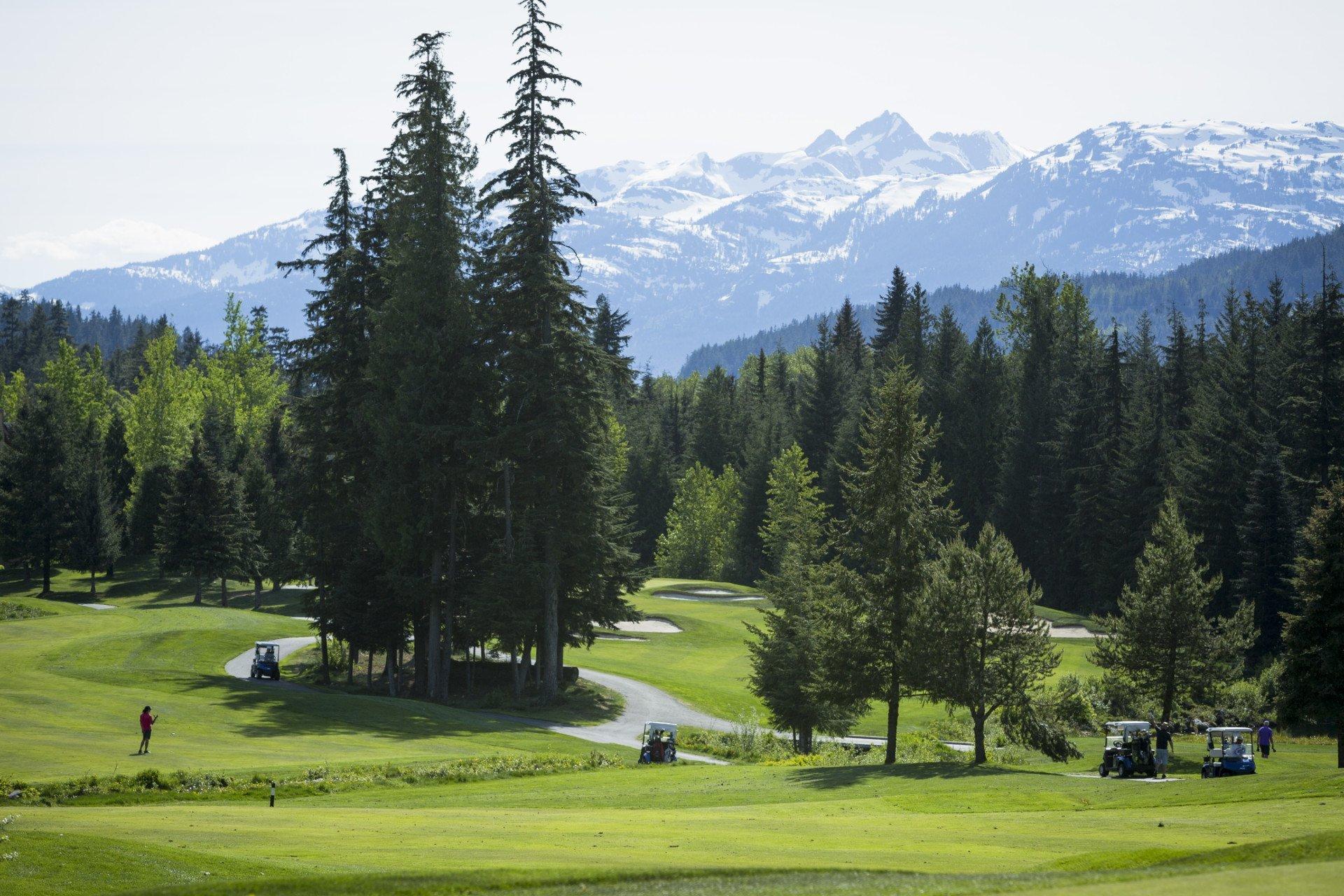 Golfing in Whistler area 2019