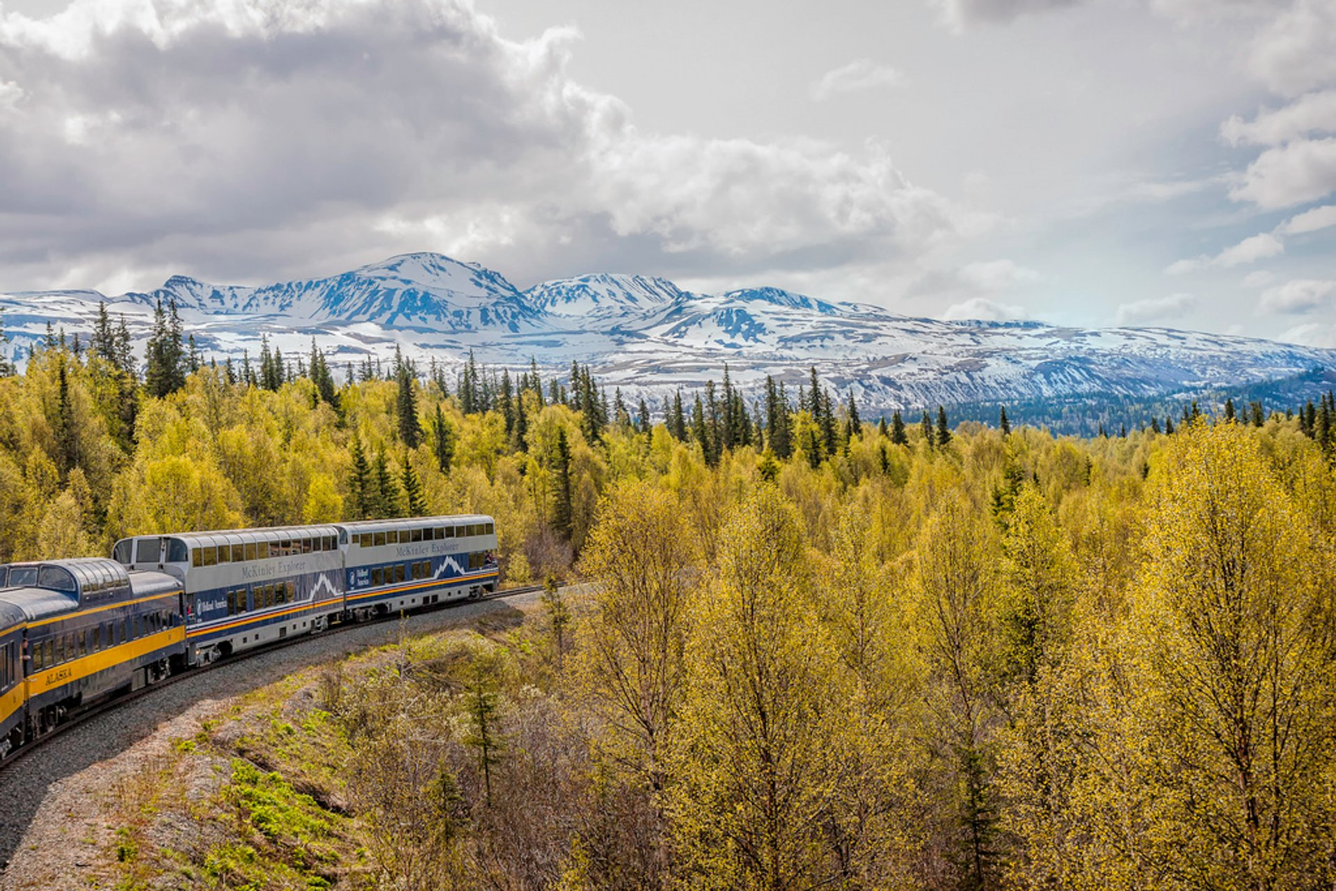 Best time for Summer Railroad Trip in Alaska 2019