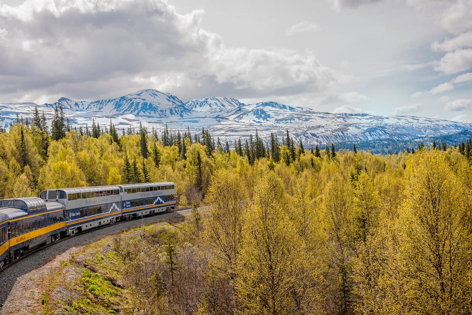 Alaska Railroad, Anchorage 2020
