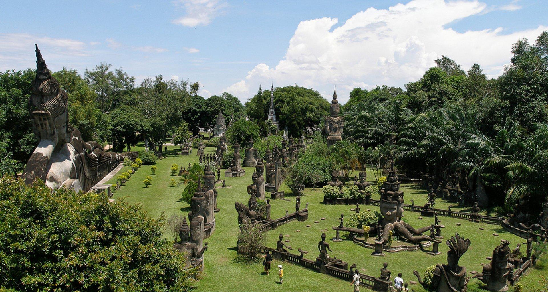 Xieng Khuan or Buddha Park in Laos - Best Season 2020