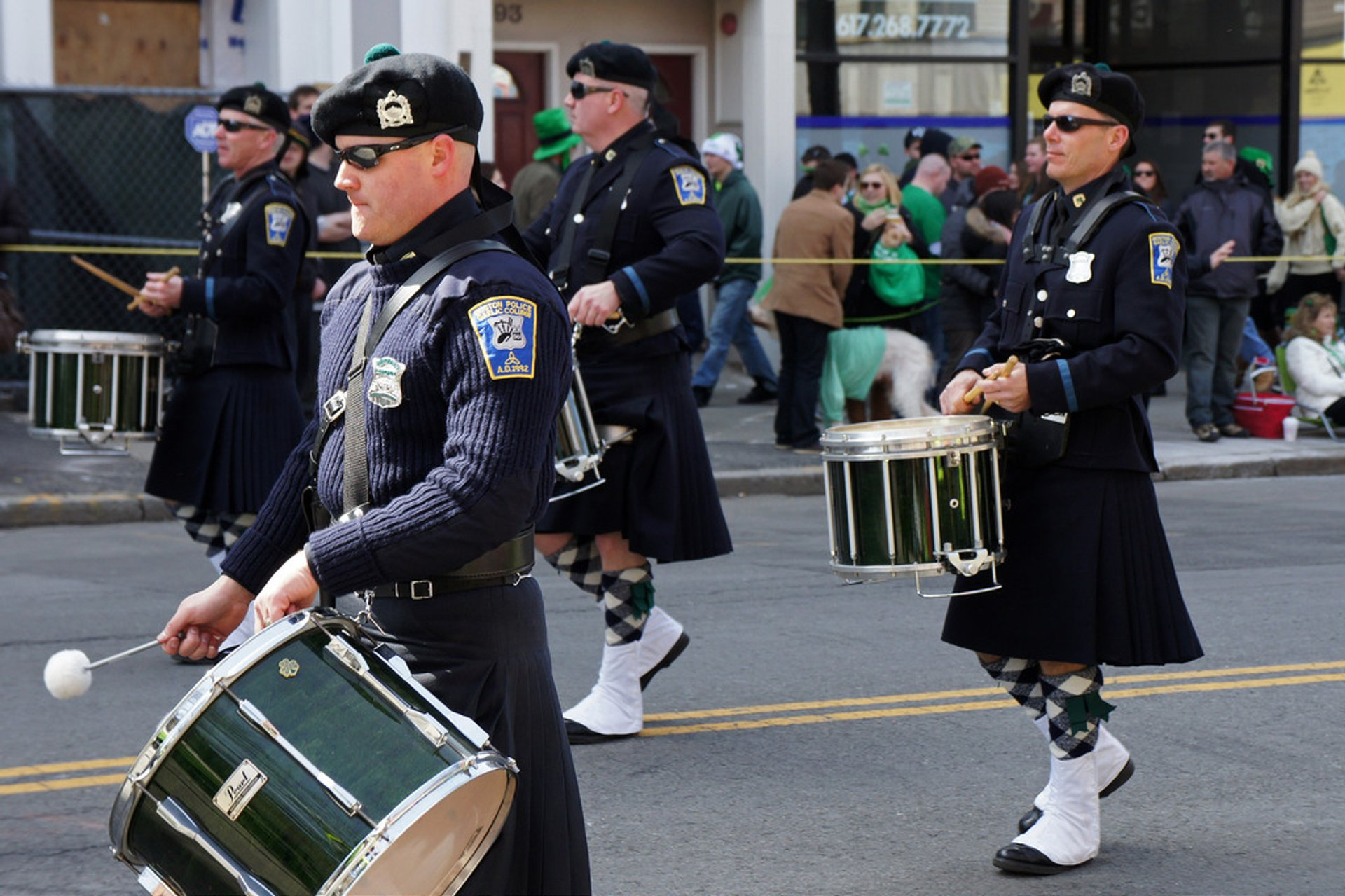 Best time for St. Patrick's Day Parade in Boston 2020