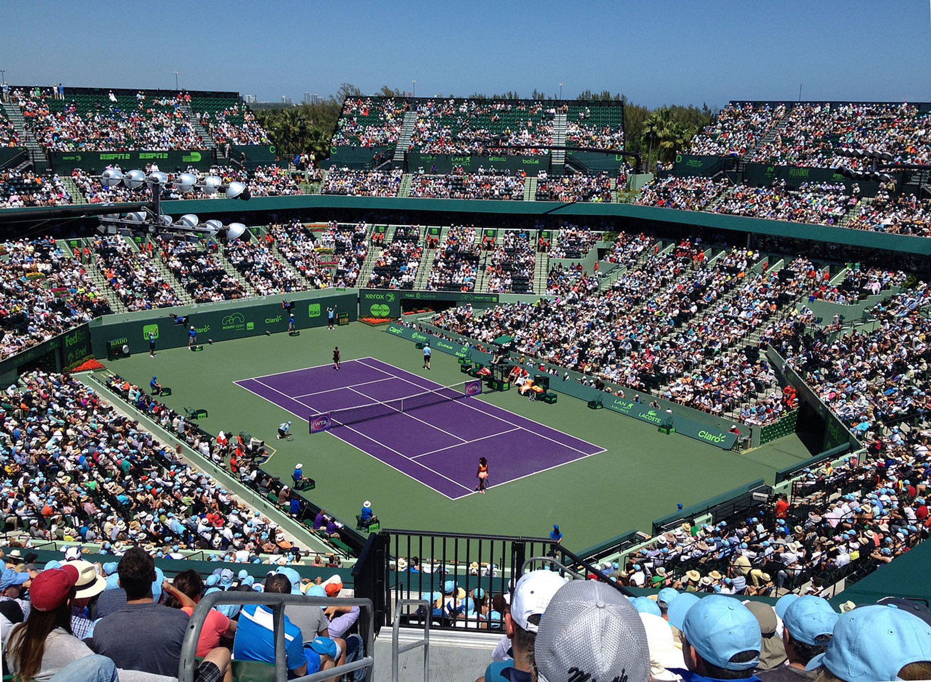 miami open 2020 - dates & map