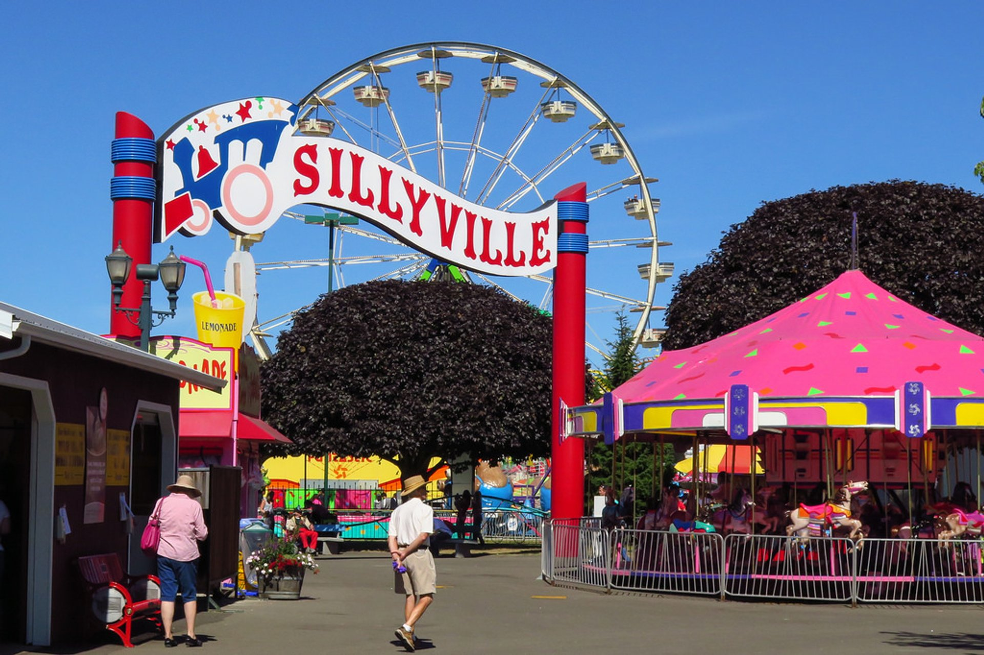 Best time to see Washington State Fair 2020