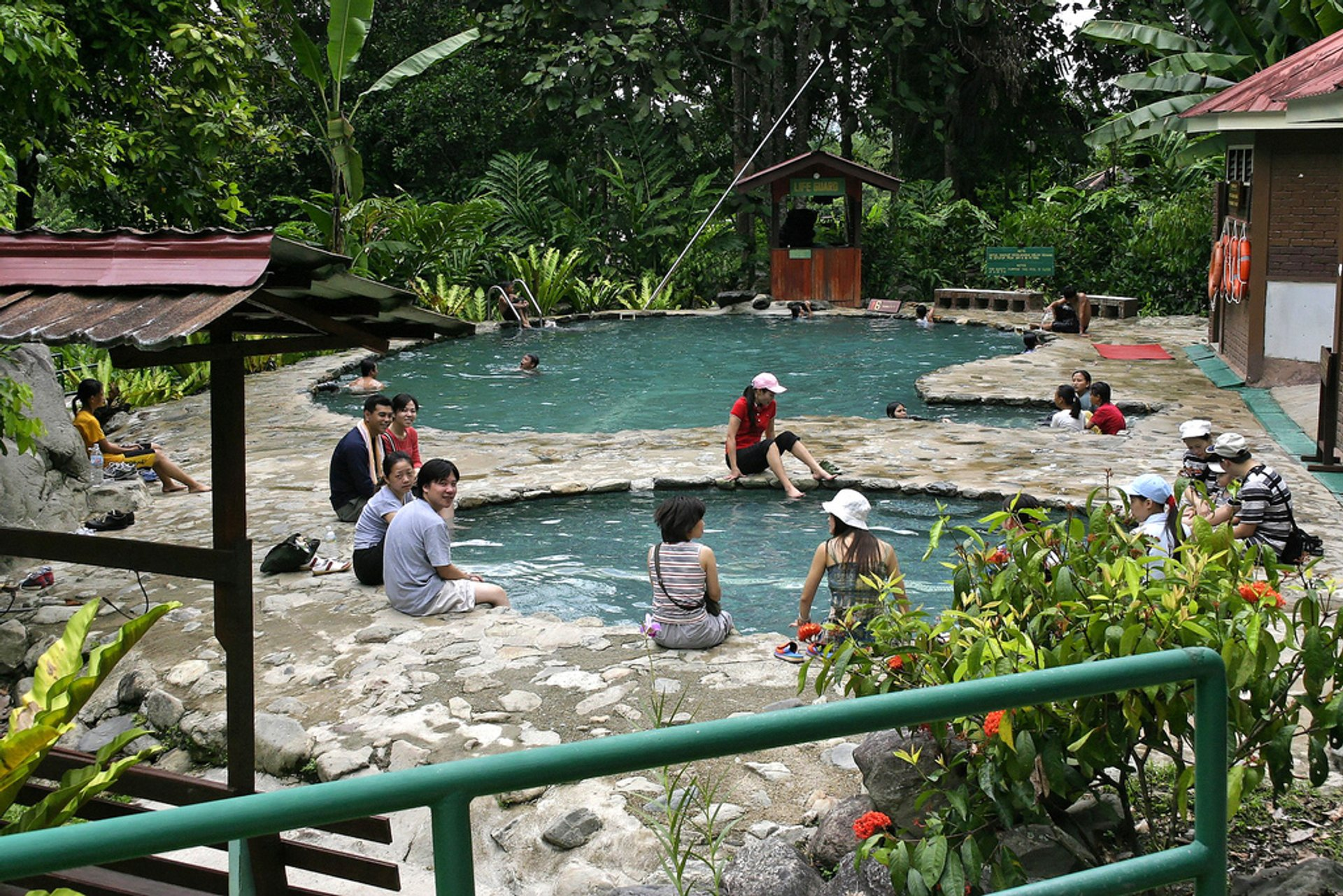 Hot Springs Off Season in Borneo 2019 - Best Time