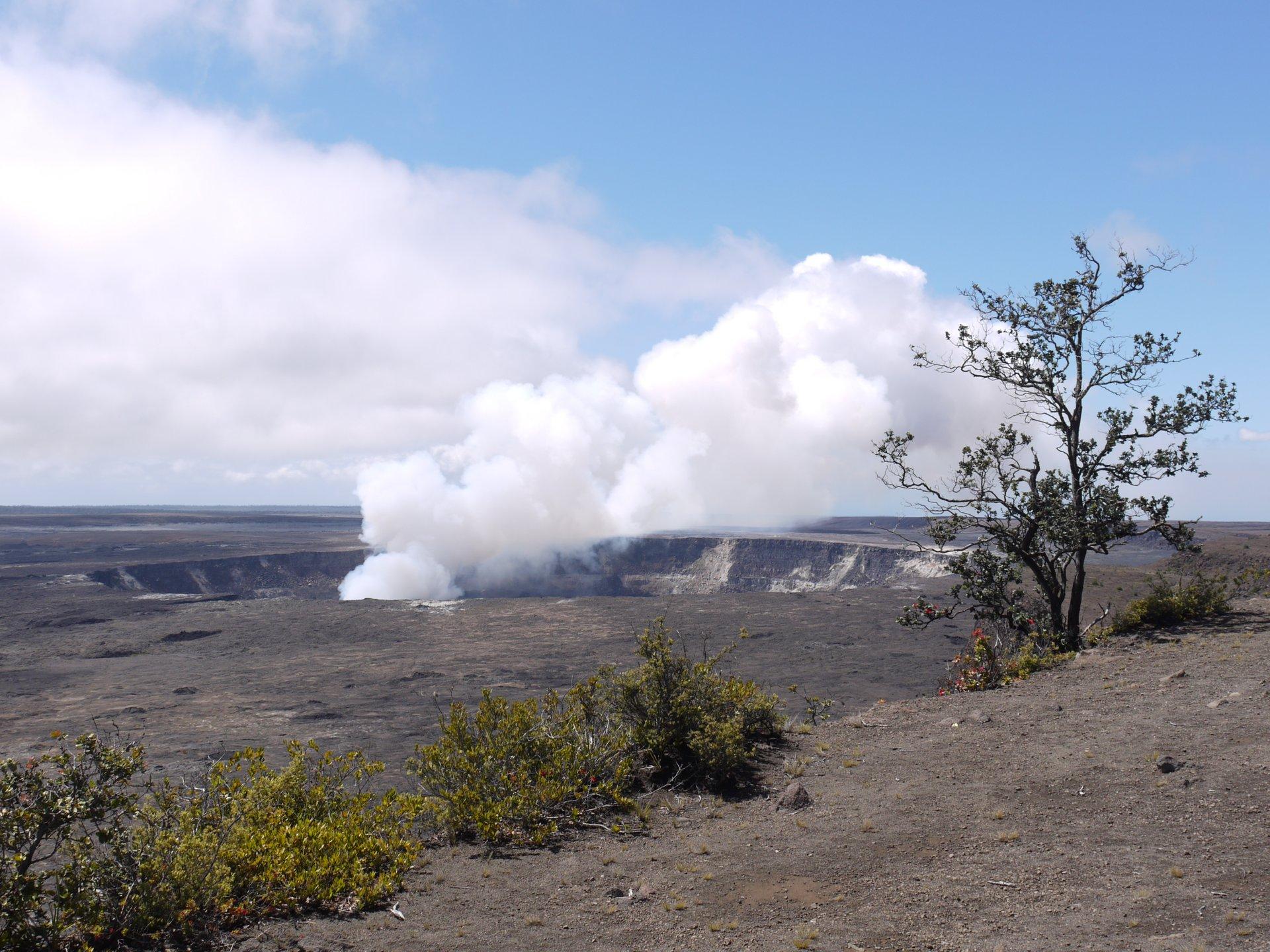 Kilauea crater 2020