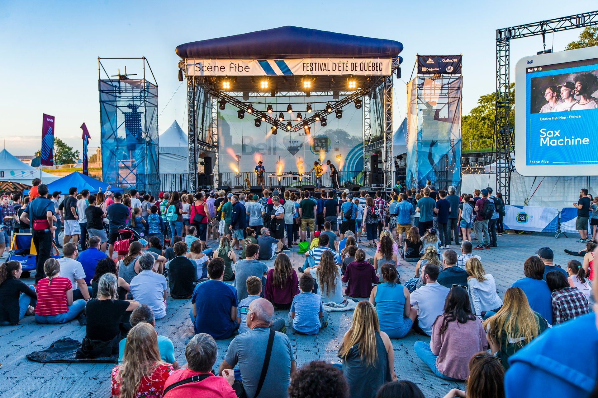Best time for Quebec City Summer Festival (Festival d'été de Québec) in Quebec 2019
