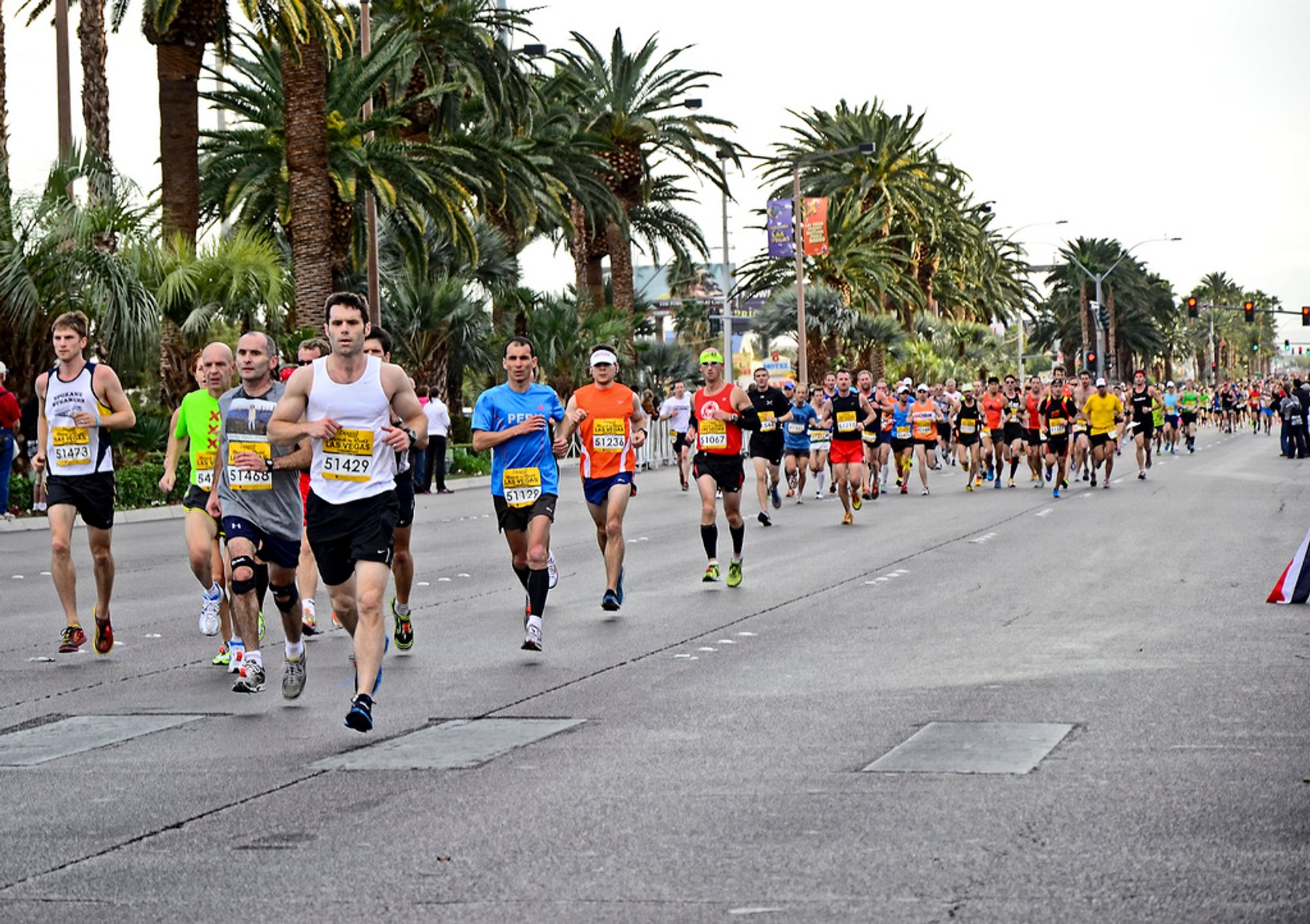 Best time for Rock 'n' Roll Las Vegas Marathon in Las Vegas 2020