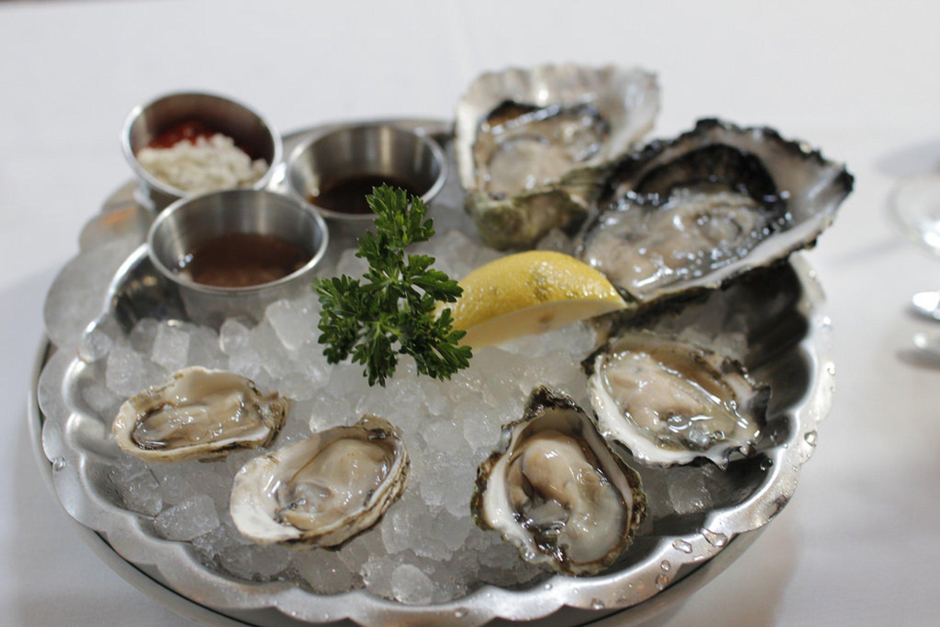 Kushi oysters 2020