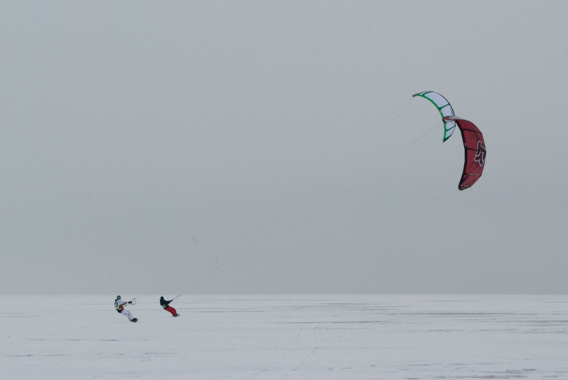 Best time to see Snow Kiting in Norway 2020