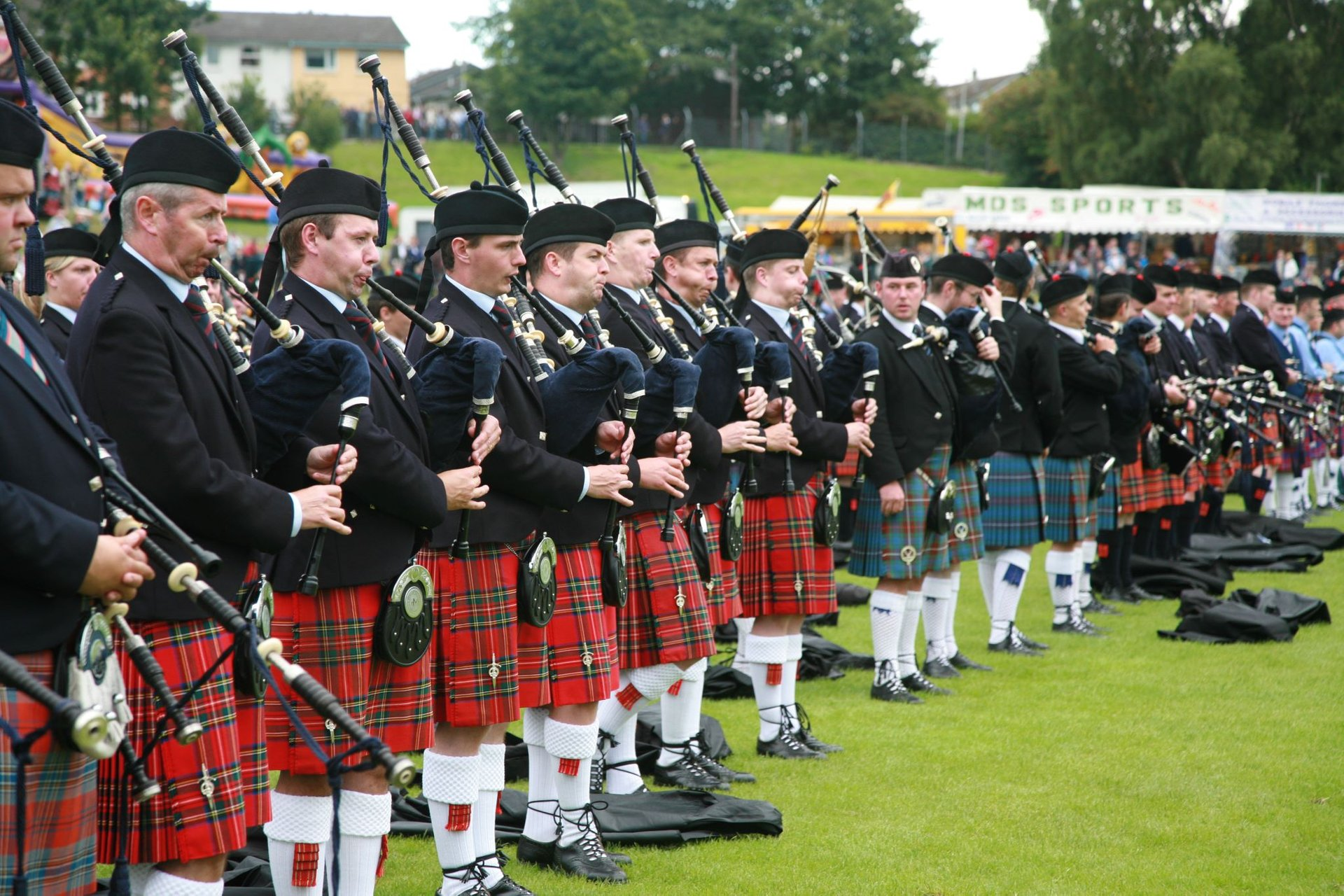 Best time for Cowal Highland Gathering in Scotland 2020