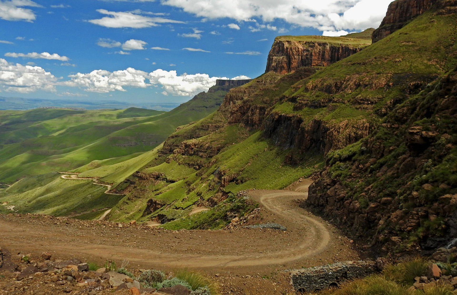 Sani Pass Road in South Africa - Best Season 2019