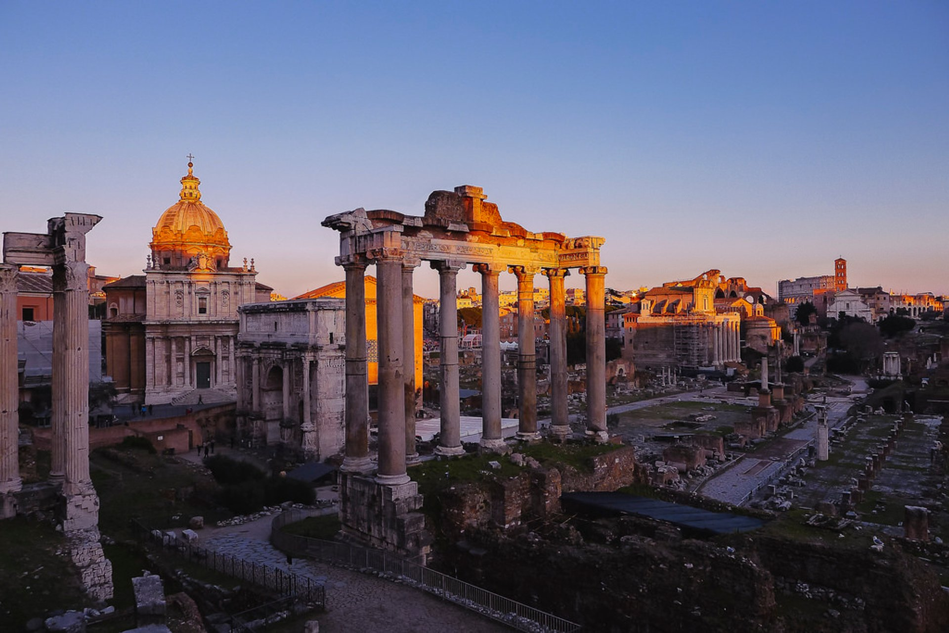 Winter Sunsets in Rome - Best Season 2020