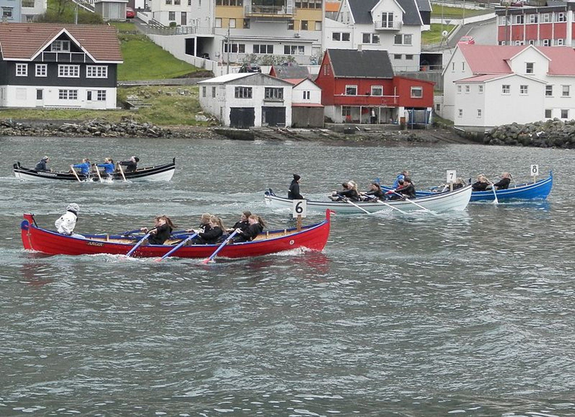 Rowing Competitions or Kappróður in Faroe Islands - Best Time
