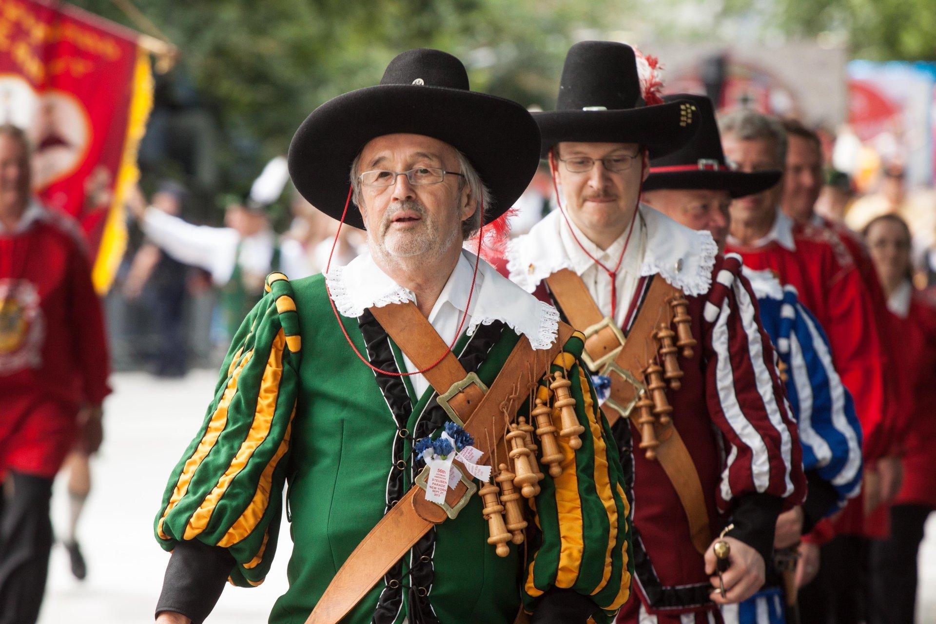 German-American Steuben Parade in New York - Best Season 2020