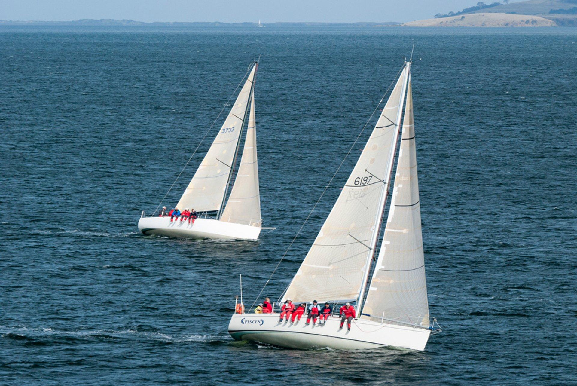 Yachting Season in Tasmania - Best Season 2019