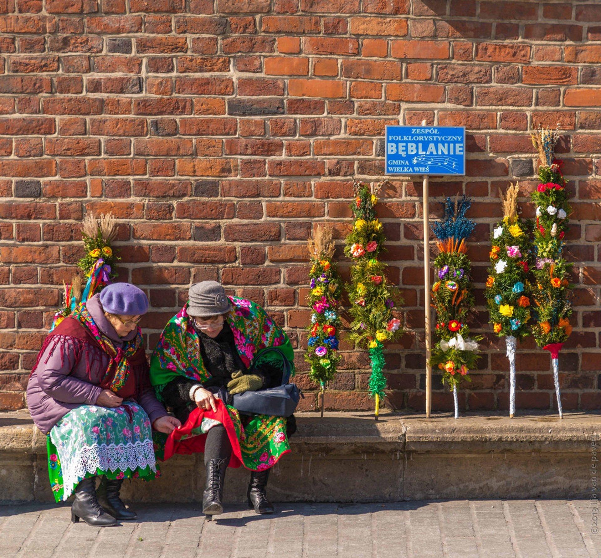 Best time for Palm Sunday in Lipnica Murowana in Krakow 2020
