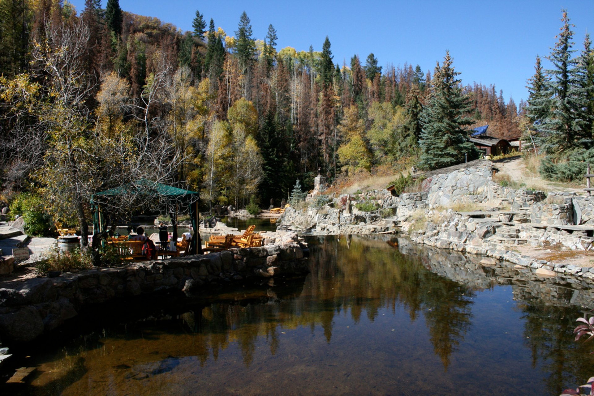 Strawberry Park Hot Springs in Colorado - Best Season 2020