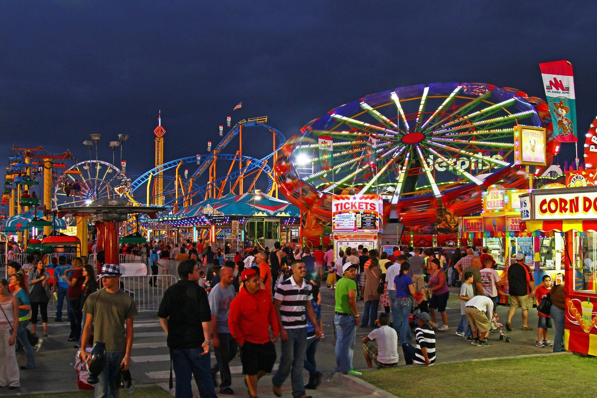 Best time to see Oklahoma State Fair 2020