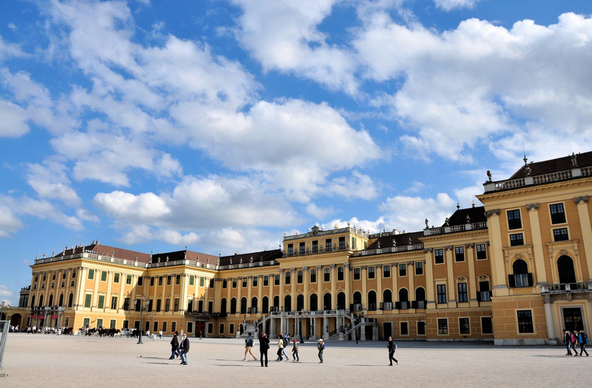 Schönbrunn Palace in Vienna - Best Season 2020