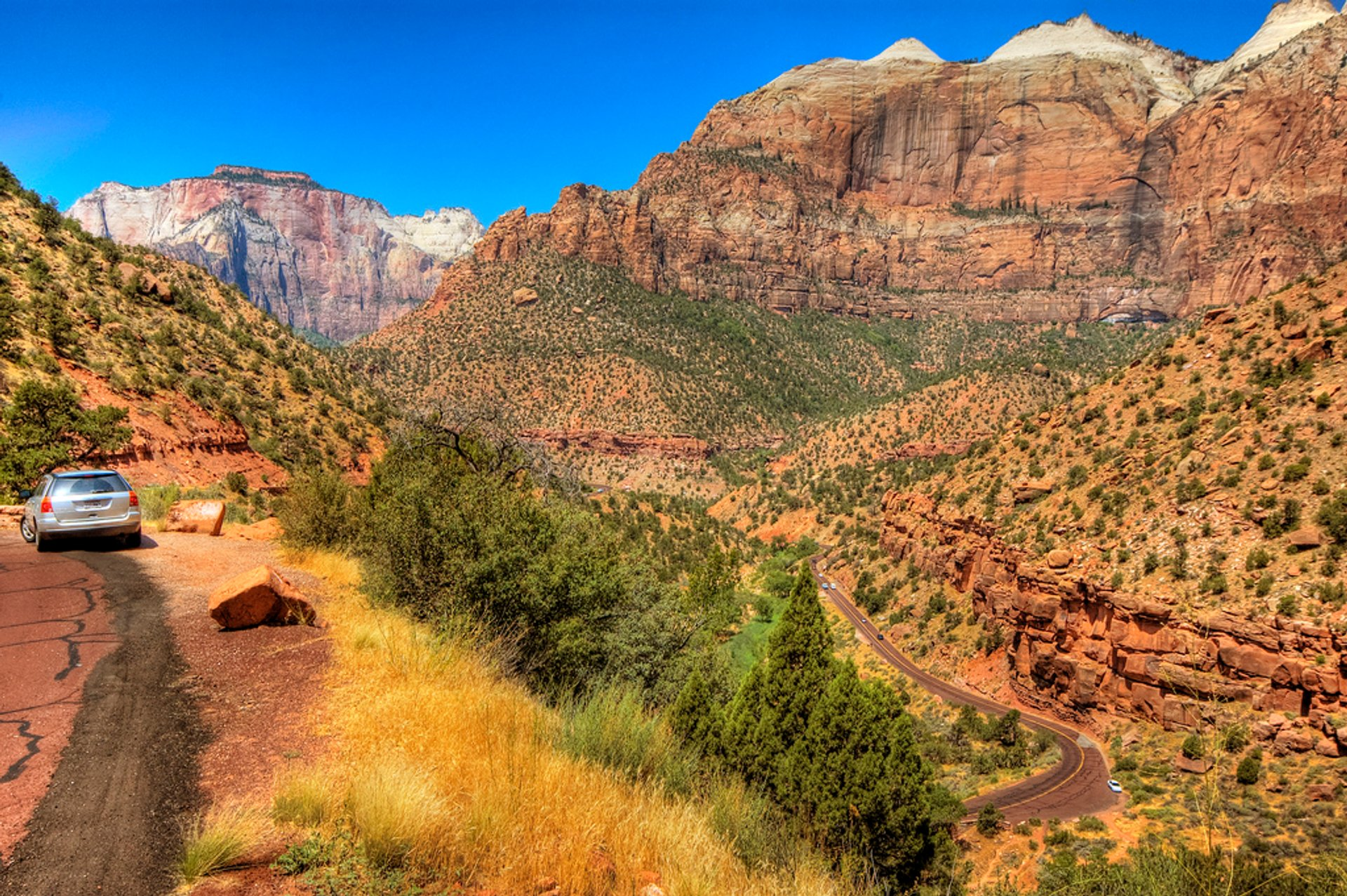 Best time for Kolob Canyons Scenic Drive in Utah
