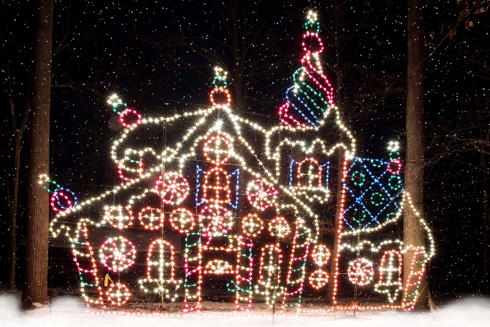 Best time for Winter Festival of Lights at Watkins Park  in Maryland 2020