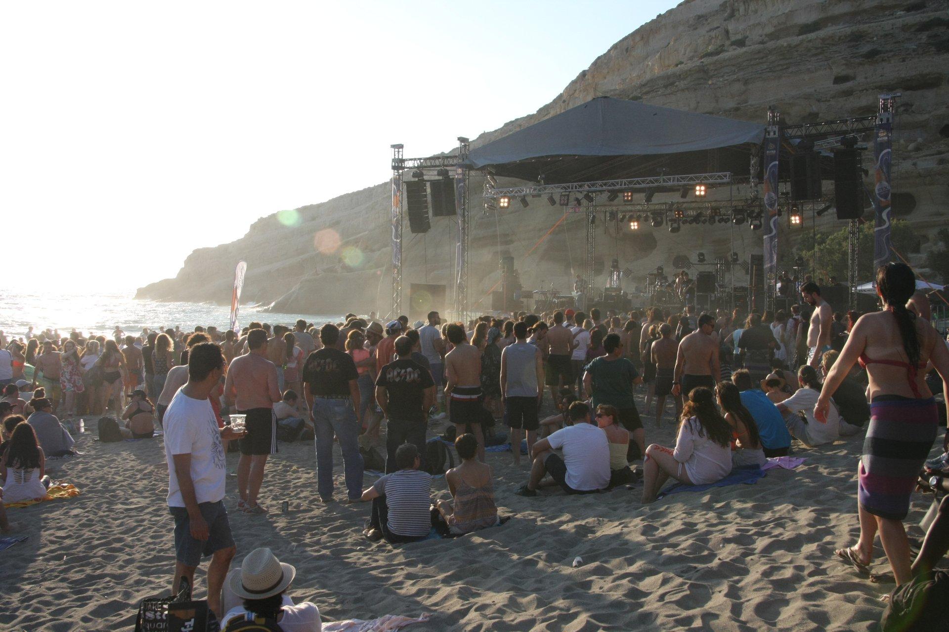 Matala Beach Festival in Crete 2020 - Best Time