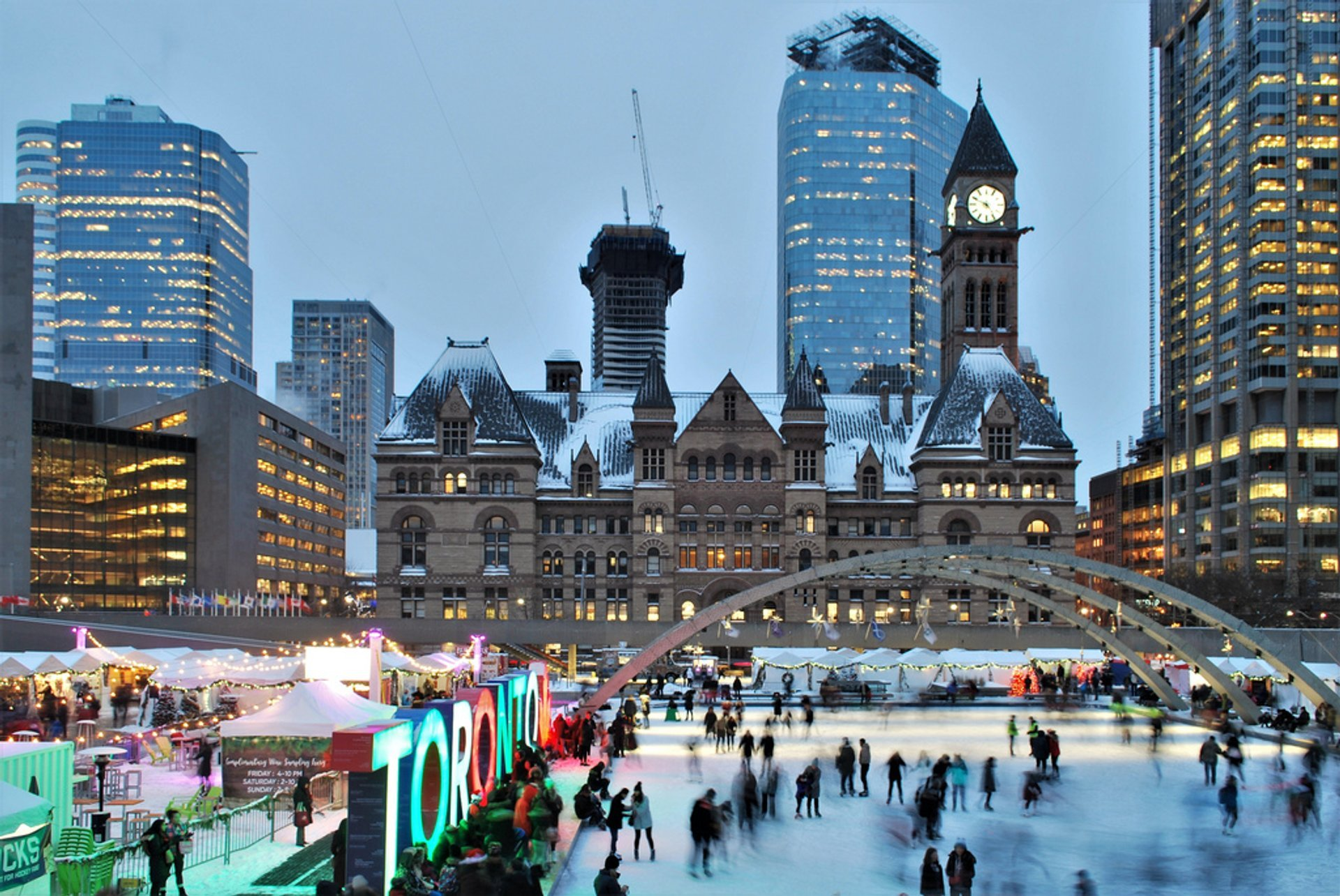 Holiday Fair in the Square in Toronto 2020 - Best Time