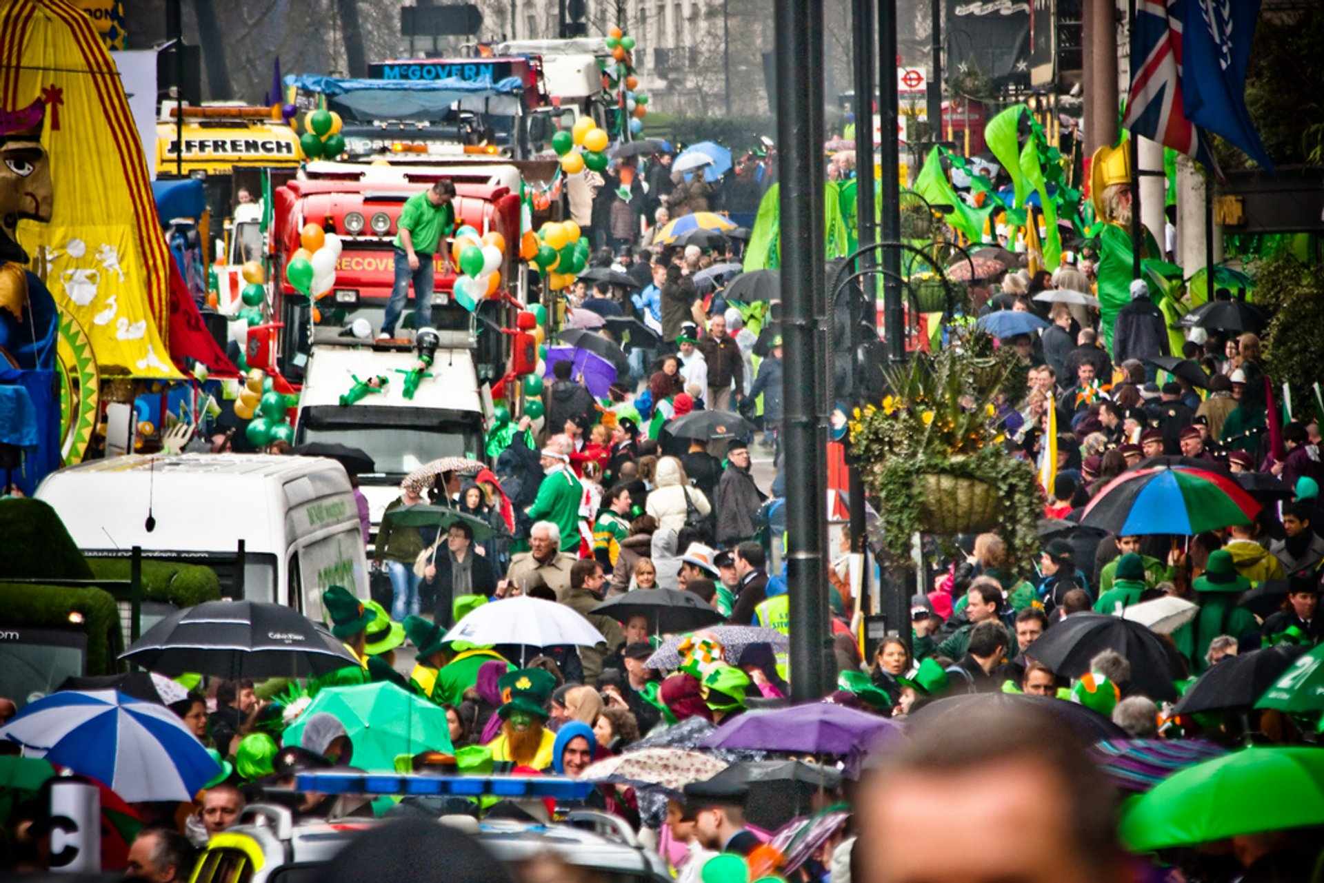St Patrick's Day Parade in London 2020 - Best Time