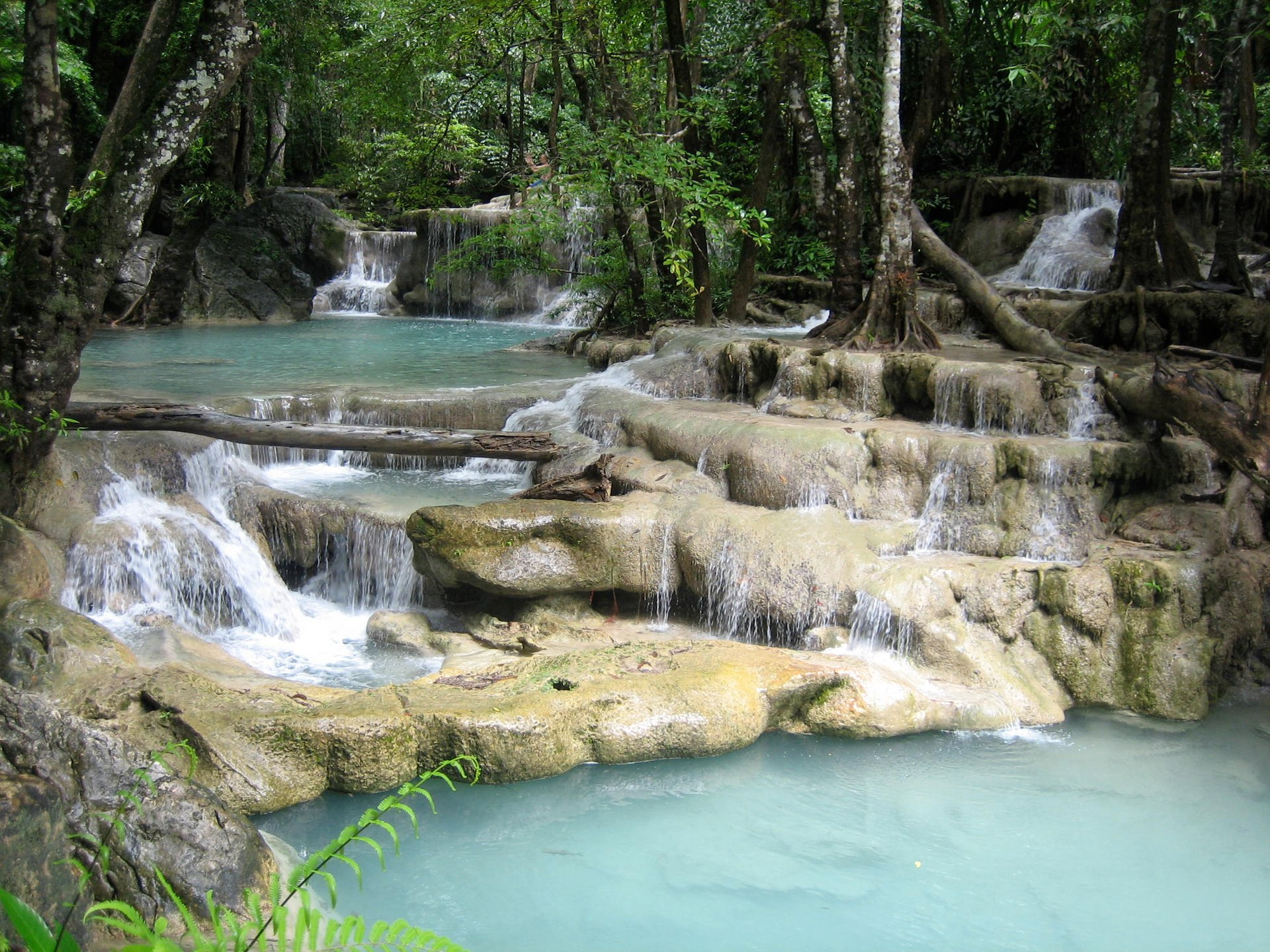 Erawan Falls in Thailand 2019 - Best Time