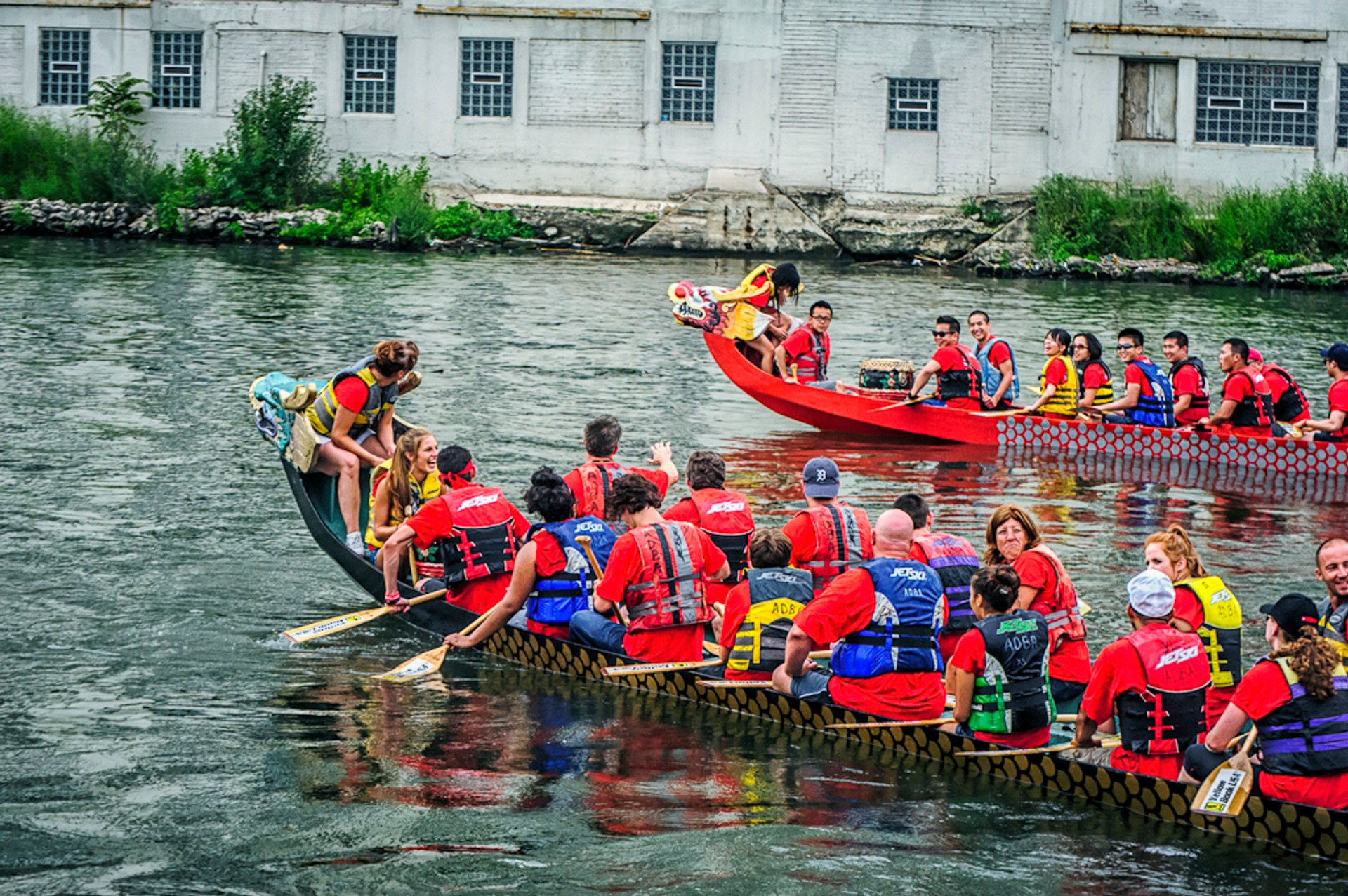 Dragon Boat Race for Literacy in Chicago 2019 - Best Time