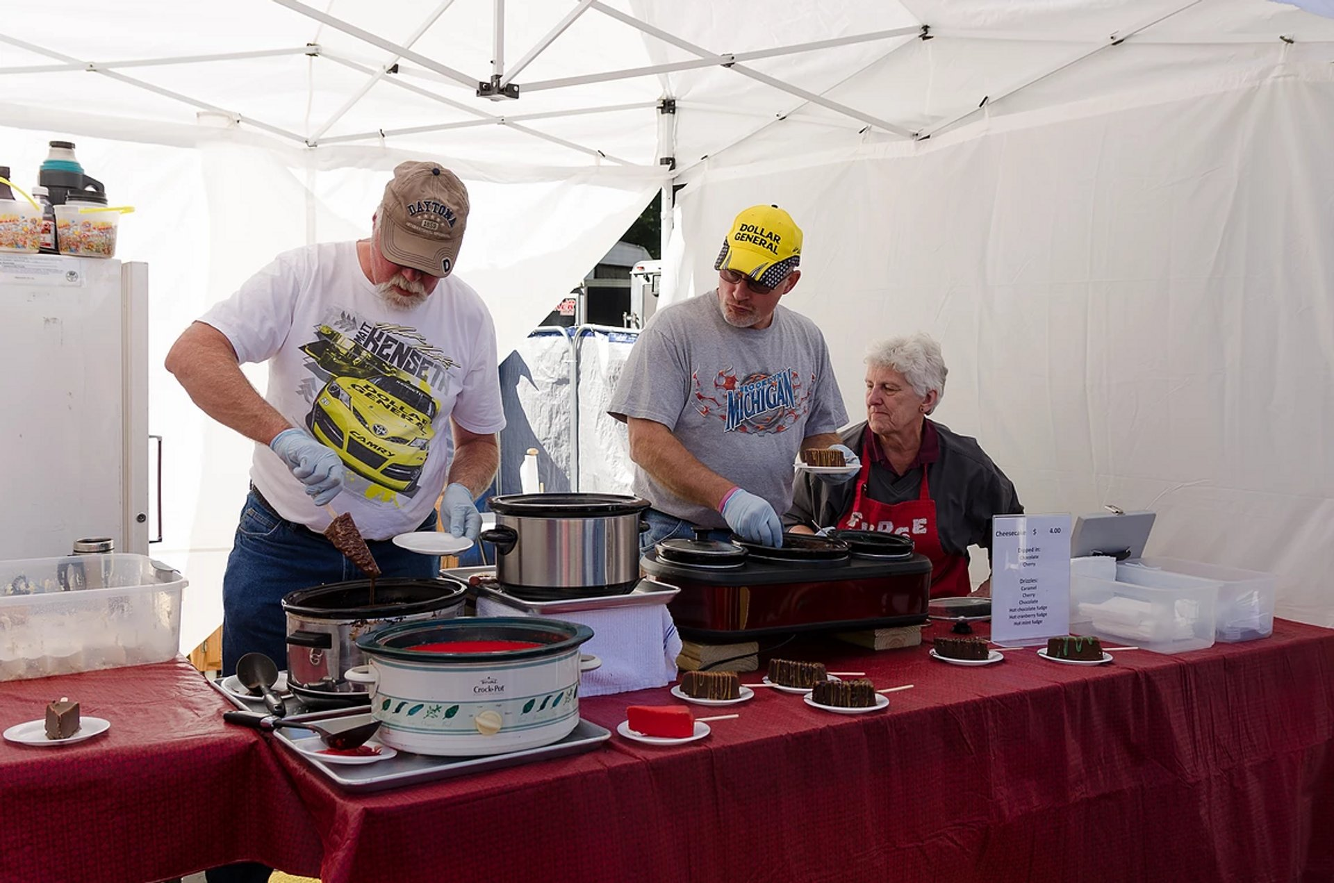 Best time for Warrens Cranberry Festival in Midwest 2020