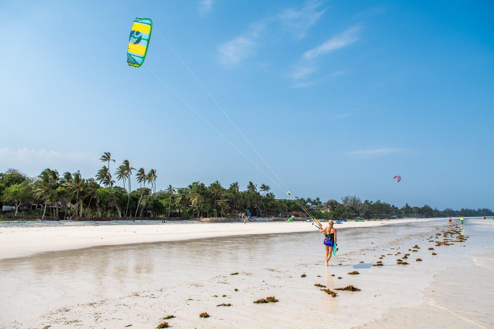 Kitesurfing & Windsurfing in Kenya 2020 - Best Time