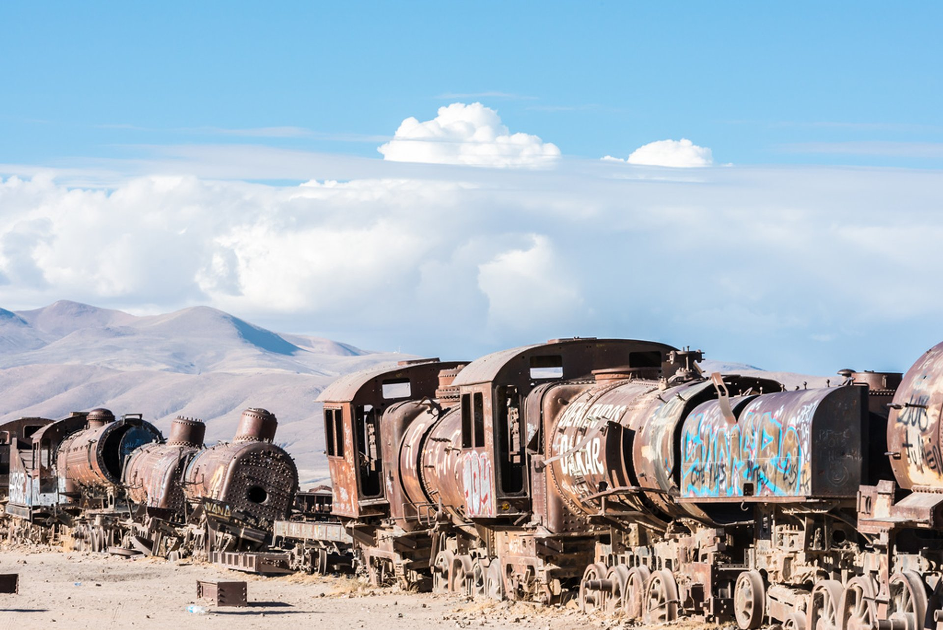 Train Cemetery in Bolivia 2019 - Best Time