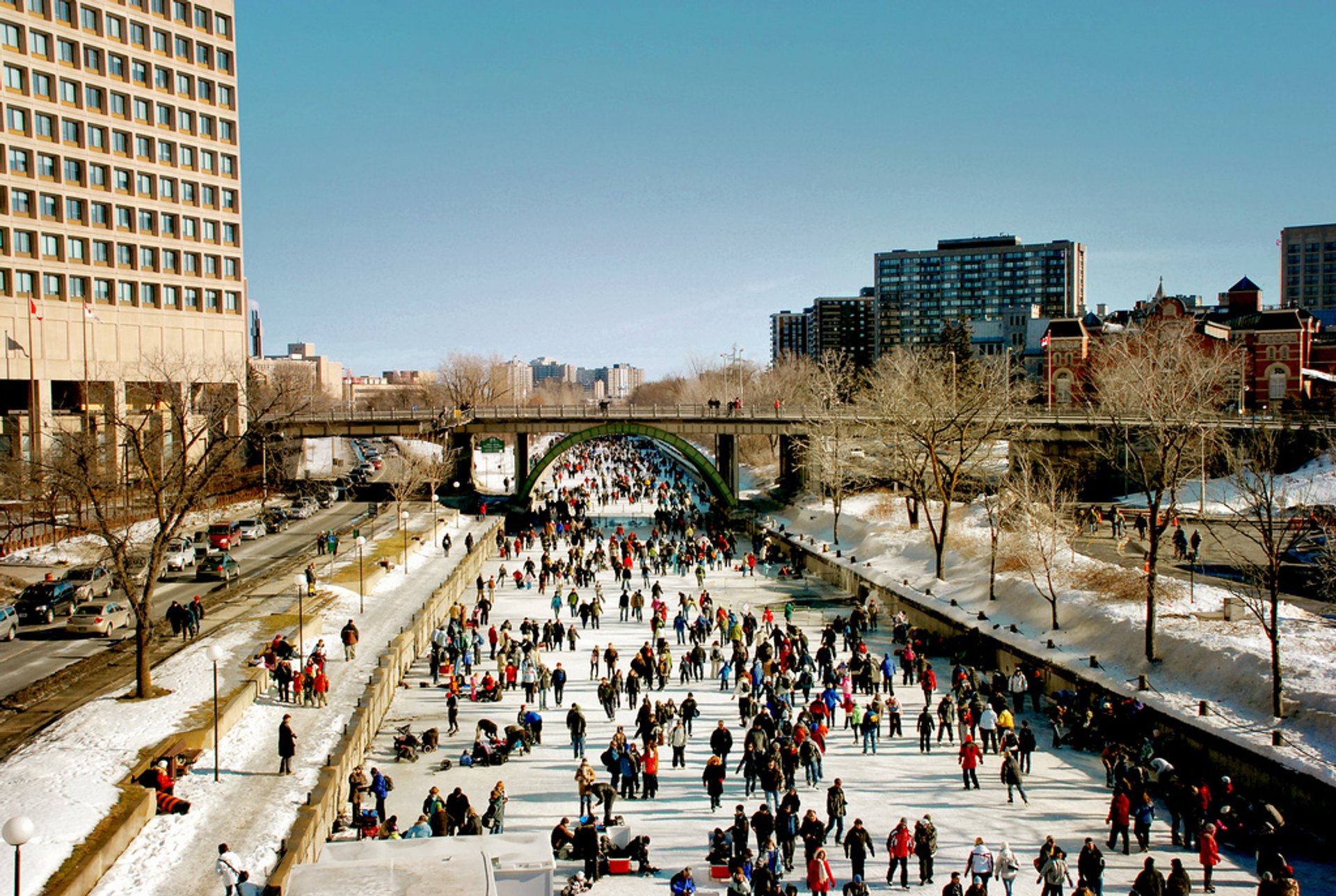 Best time for Rideau Canal Skating Season in Ontario 2020