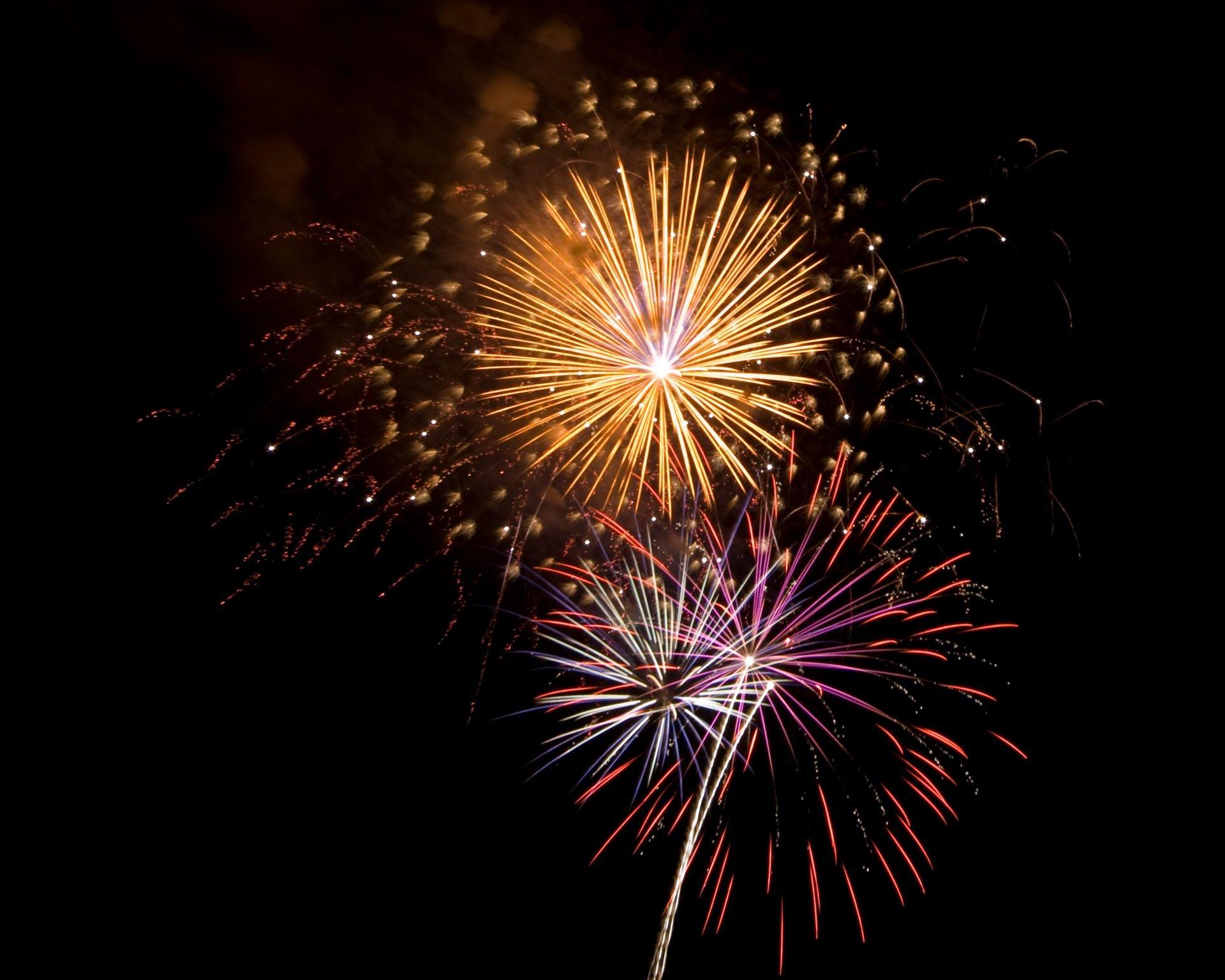 4th of July fireworks in Havre de Grace 2020