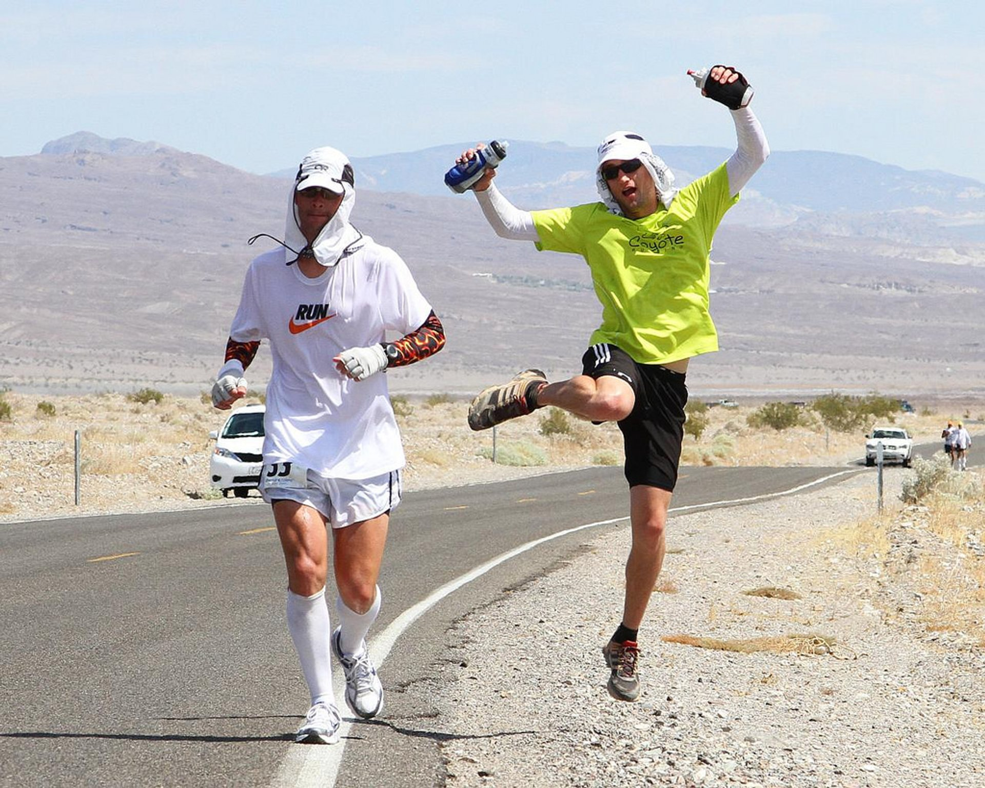 Badwater 135 Ultramarathon in Death Valley - Best Season
