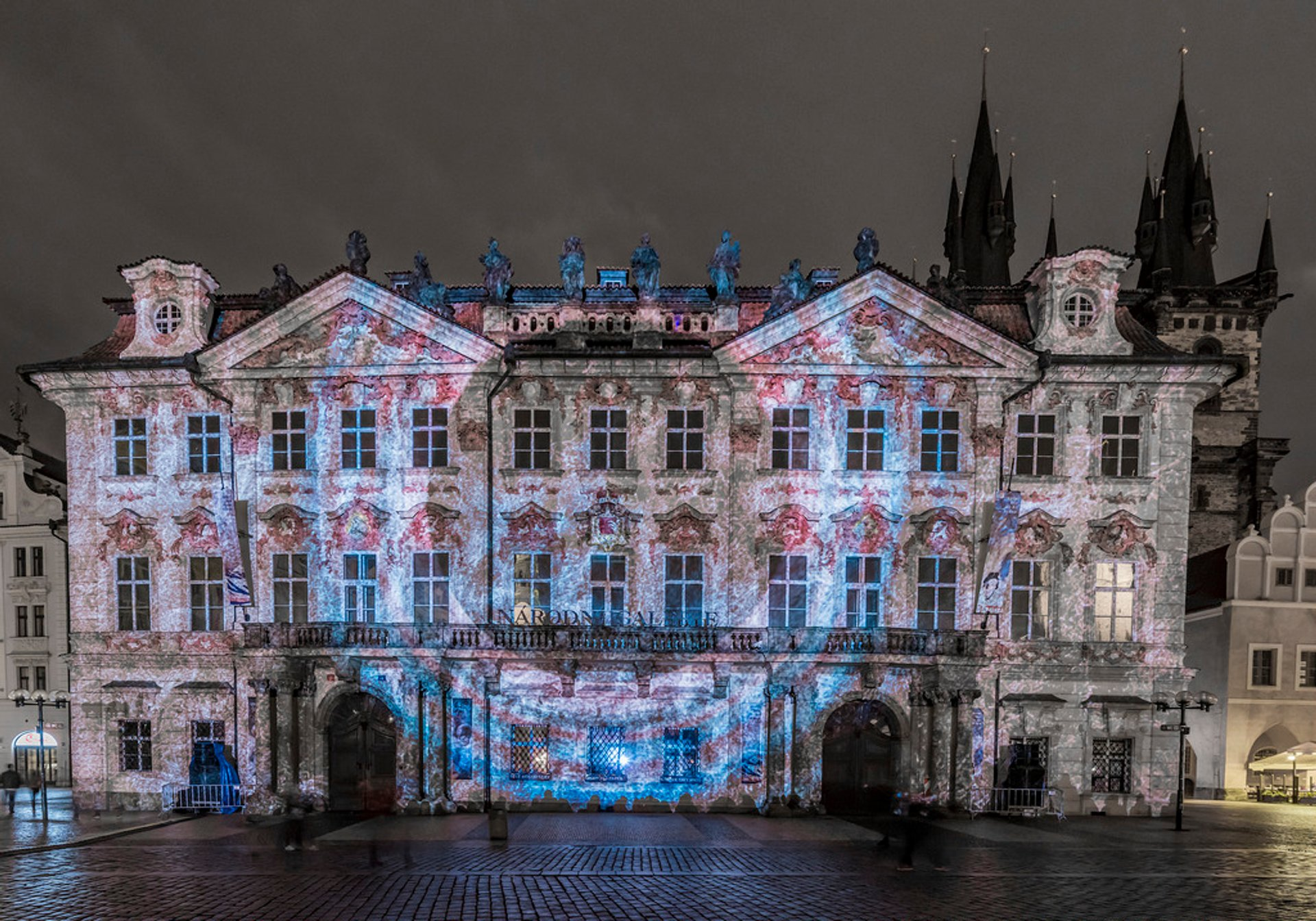 Signal Festival at Old Town Square, Prague 2020