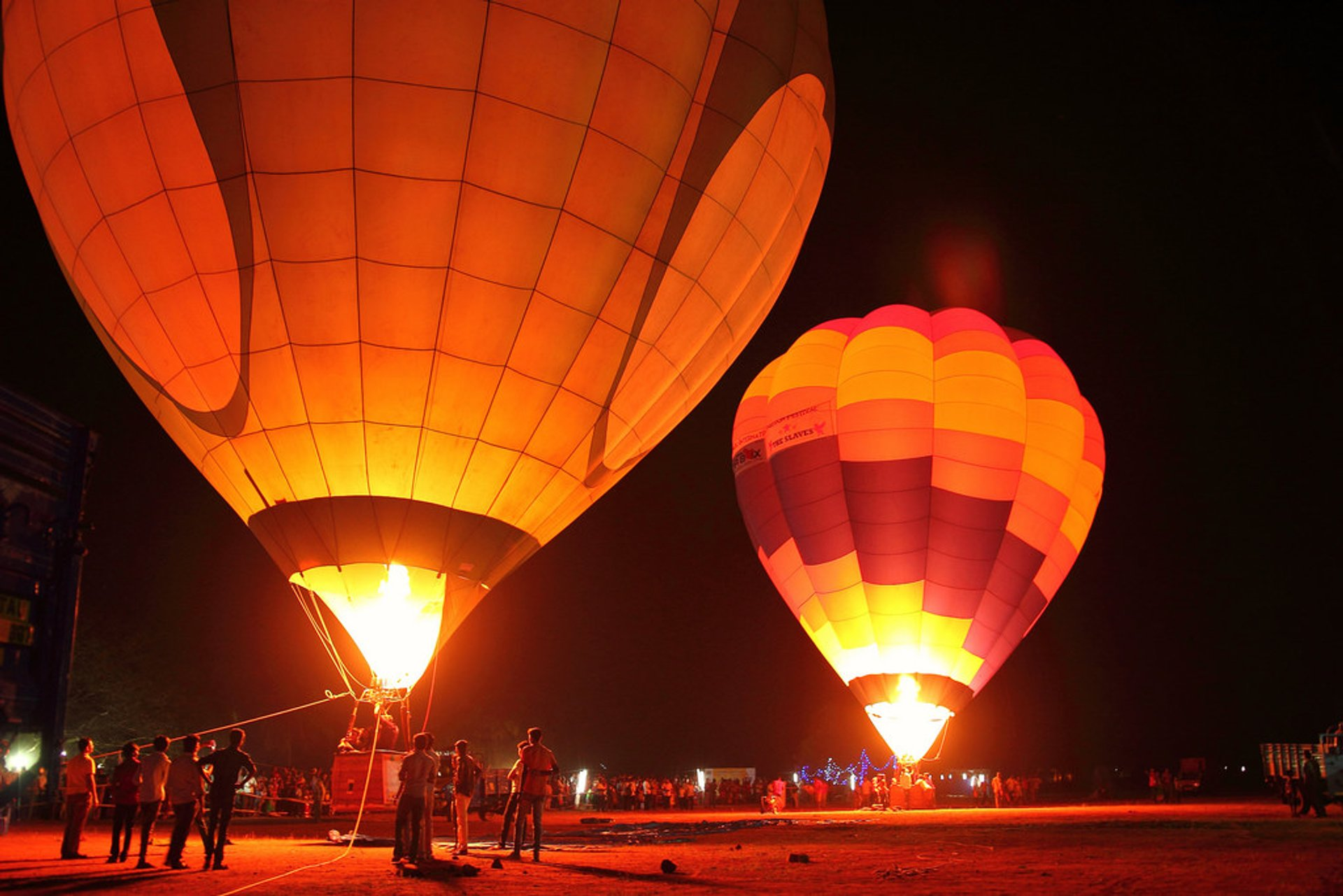 Hot Air Ballooning in India - Best Season 2019