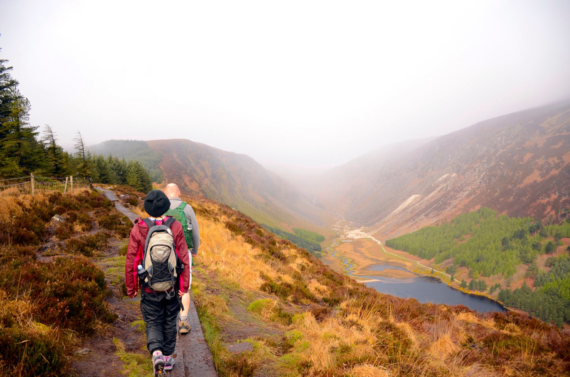 Hiking Wicklow Way 2019