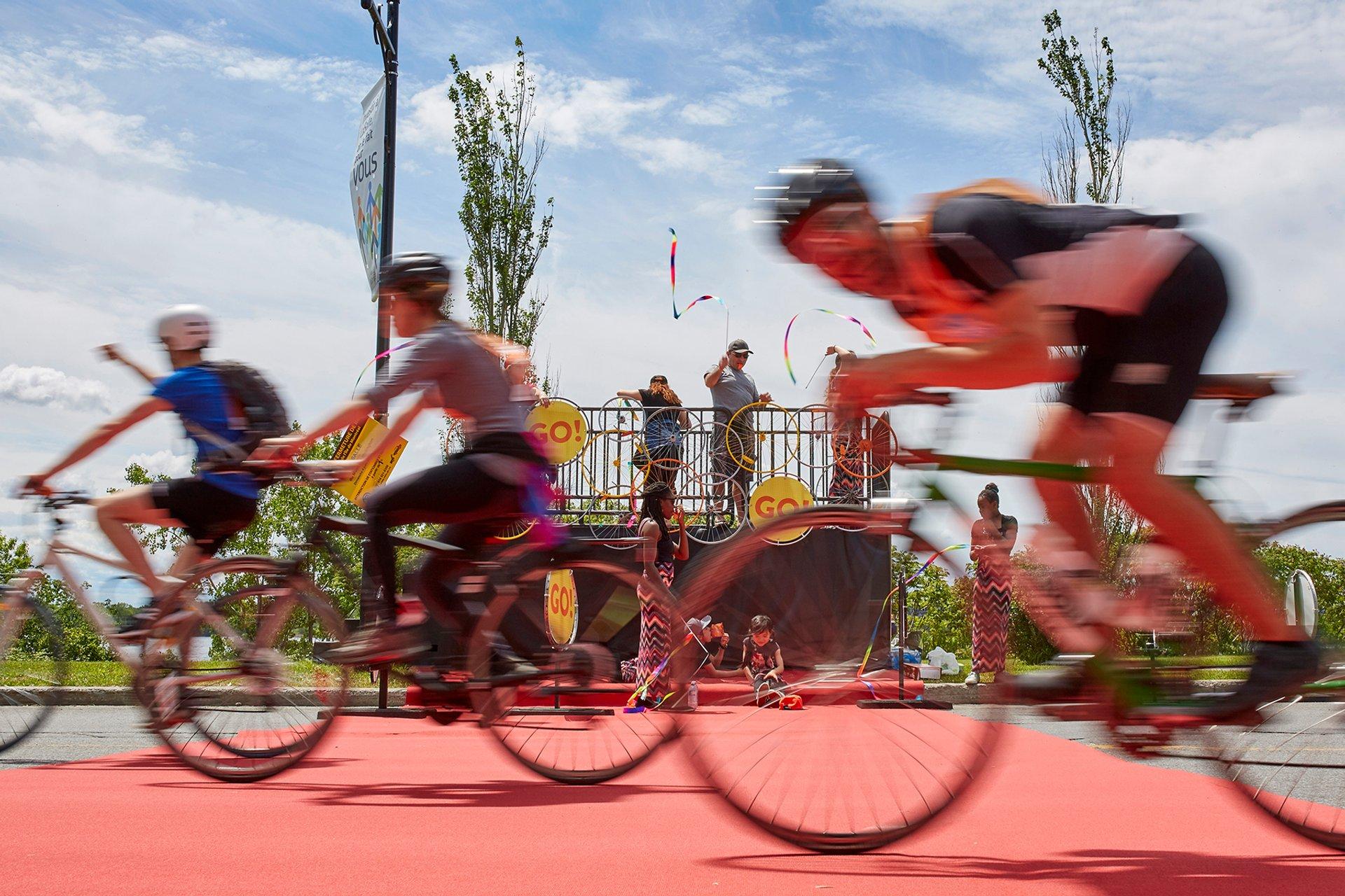 Best time to see Tour de l'Île de Montréal in Montreal 2020