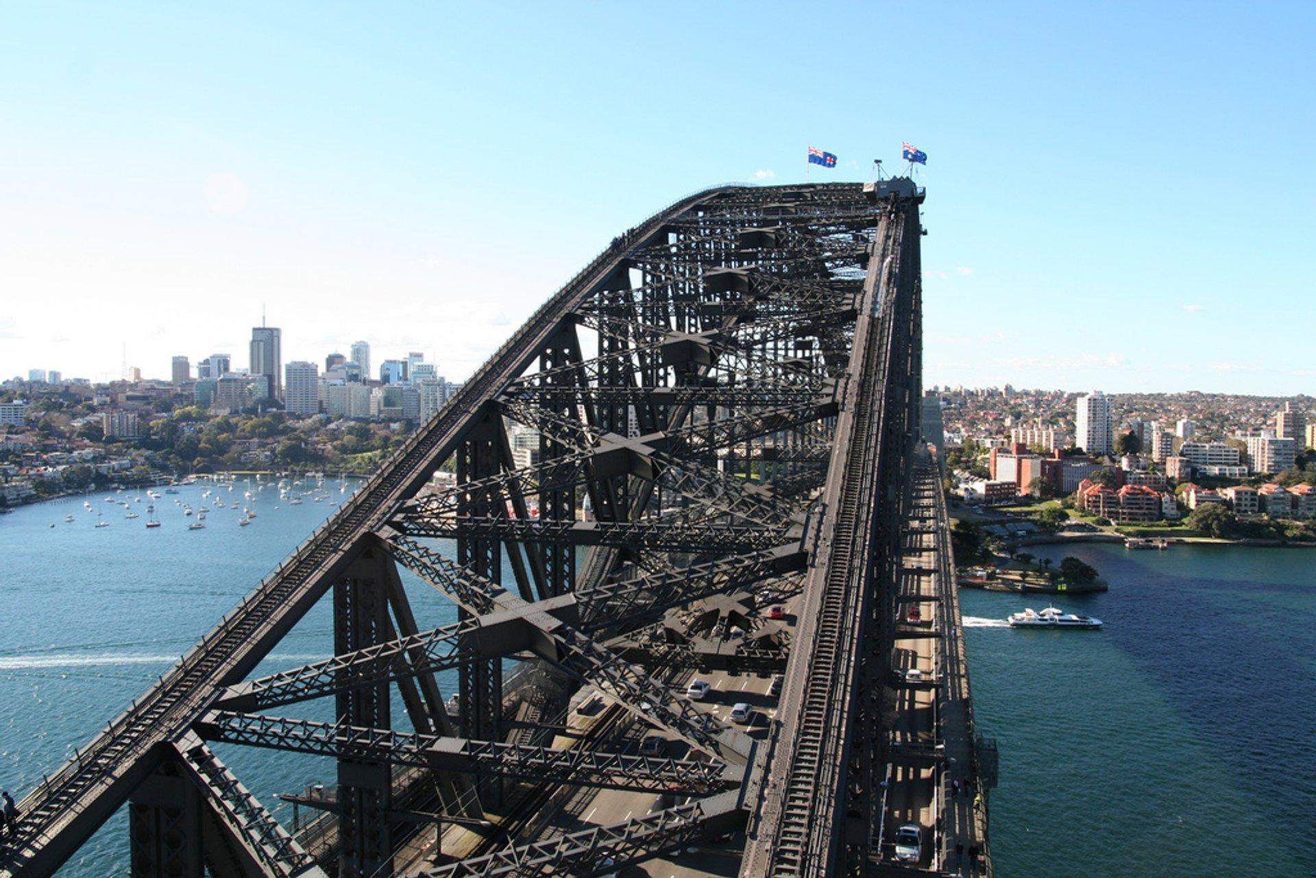 Sydney Harbour Bridge Climb in Sydney 2019 - Best Time