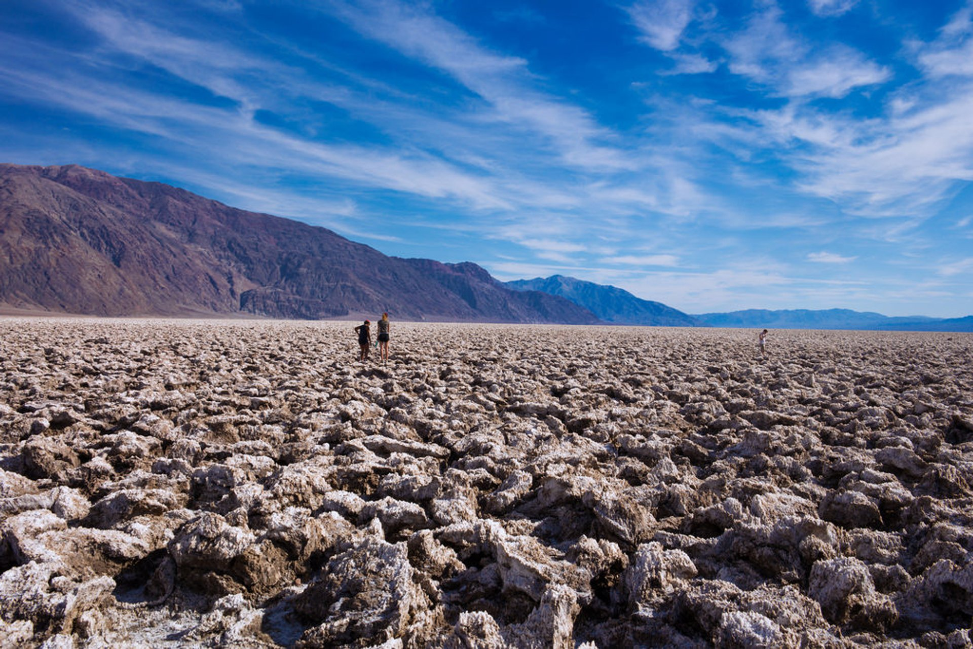 Best time for Devil's Golf Course in Death Valley 2020