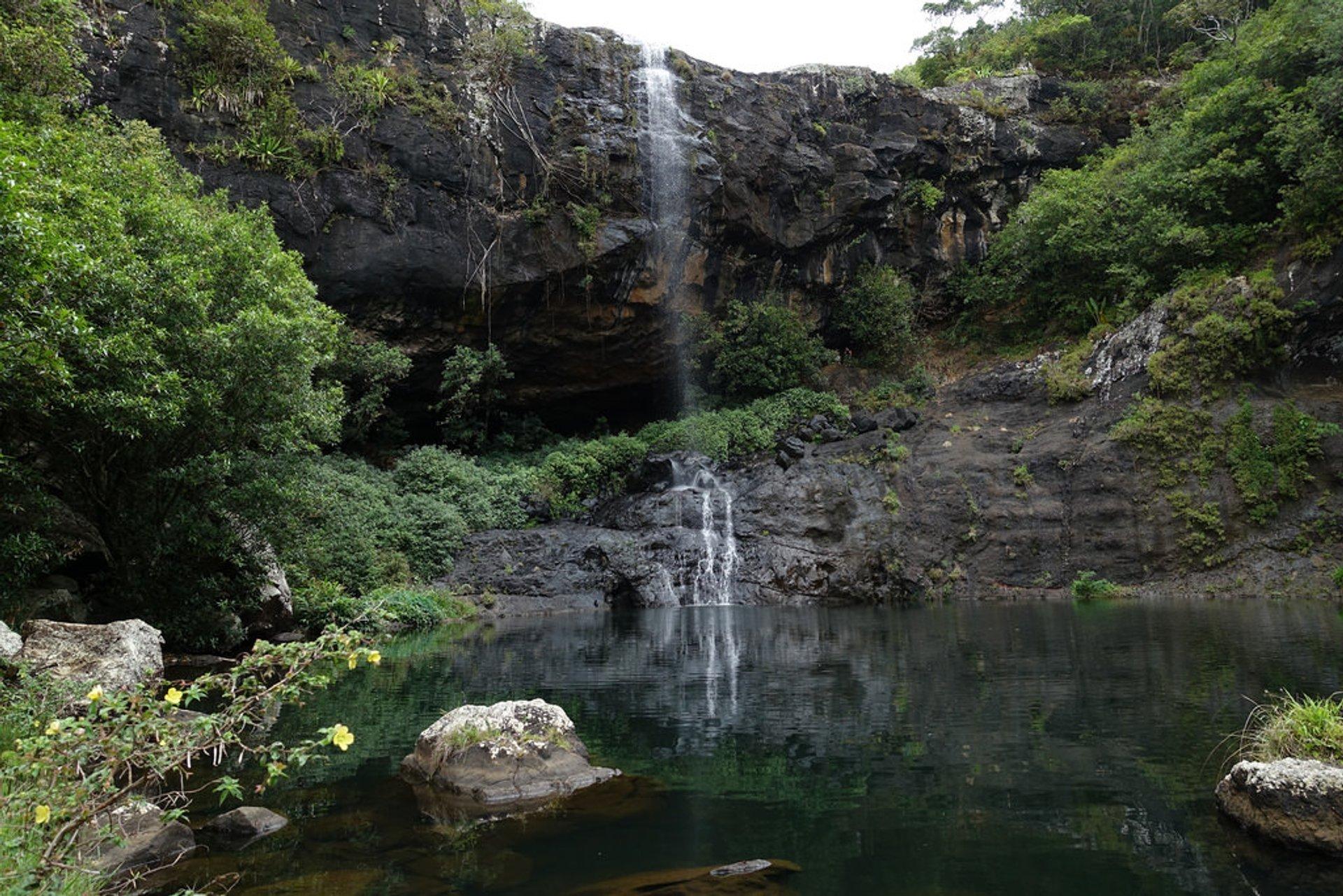Tamarind Falls in Mauritius - Best Time