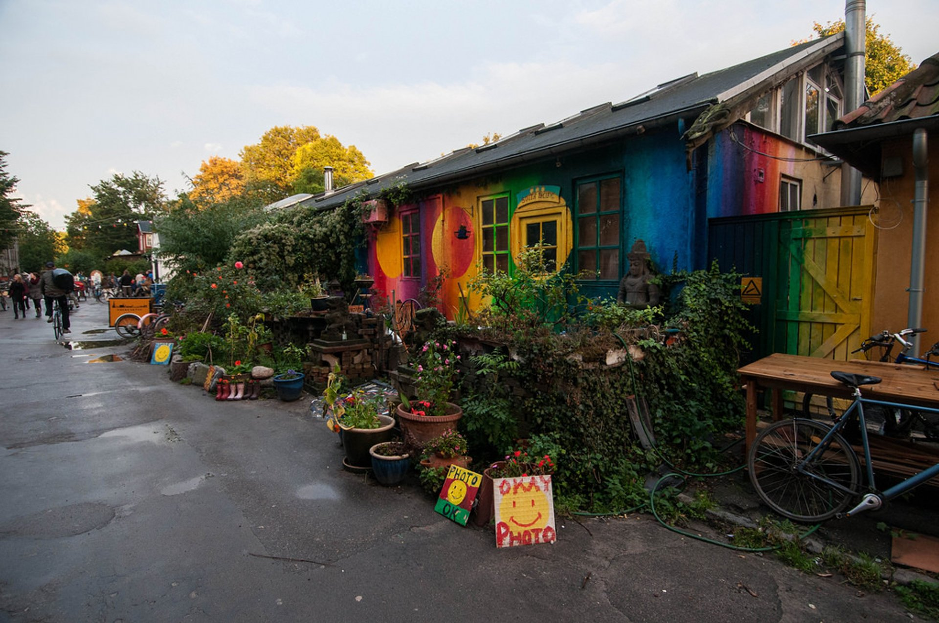 Best time to see Freetown Christiania in Copenhagen 2020
