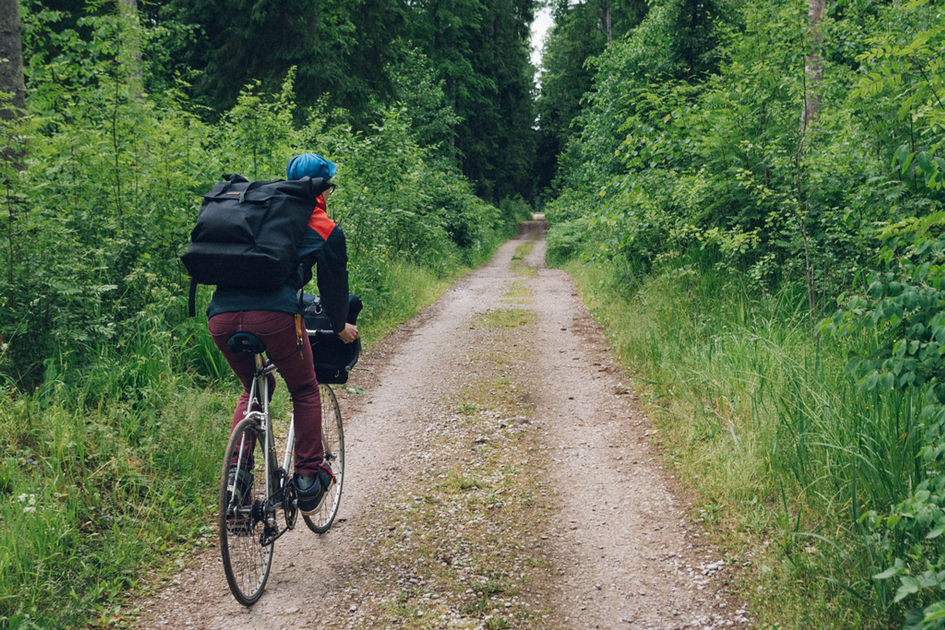Little bicycle trip near Narva, Estonia 2020