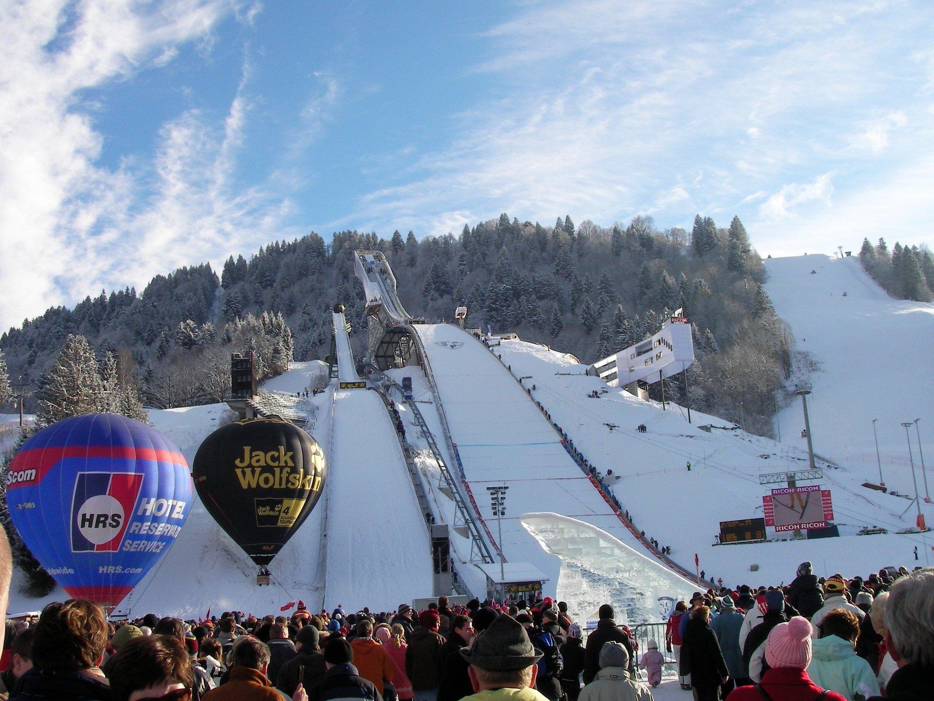 New Year's Ski Jumping (Neujahrsskispringen) in Bavaria 2019 - Best Time