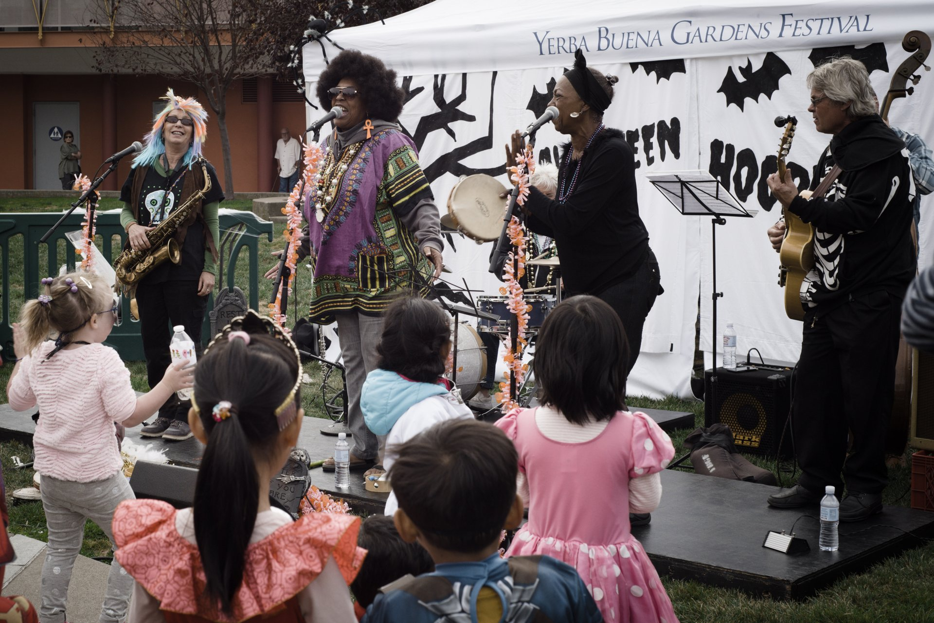 Halloween Hoopla at Yerba Buena Children's Garden 2020